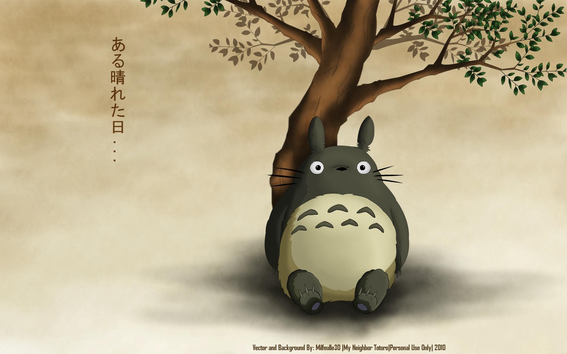 My Neighbor Totoro Wallpaper One Fine Day Minitokyo