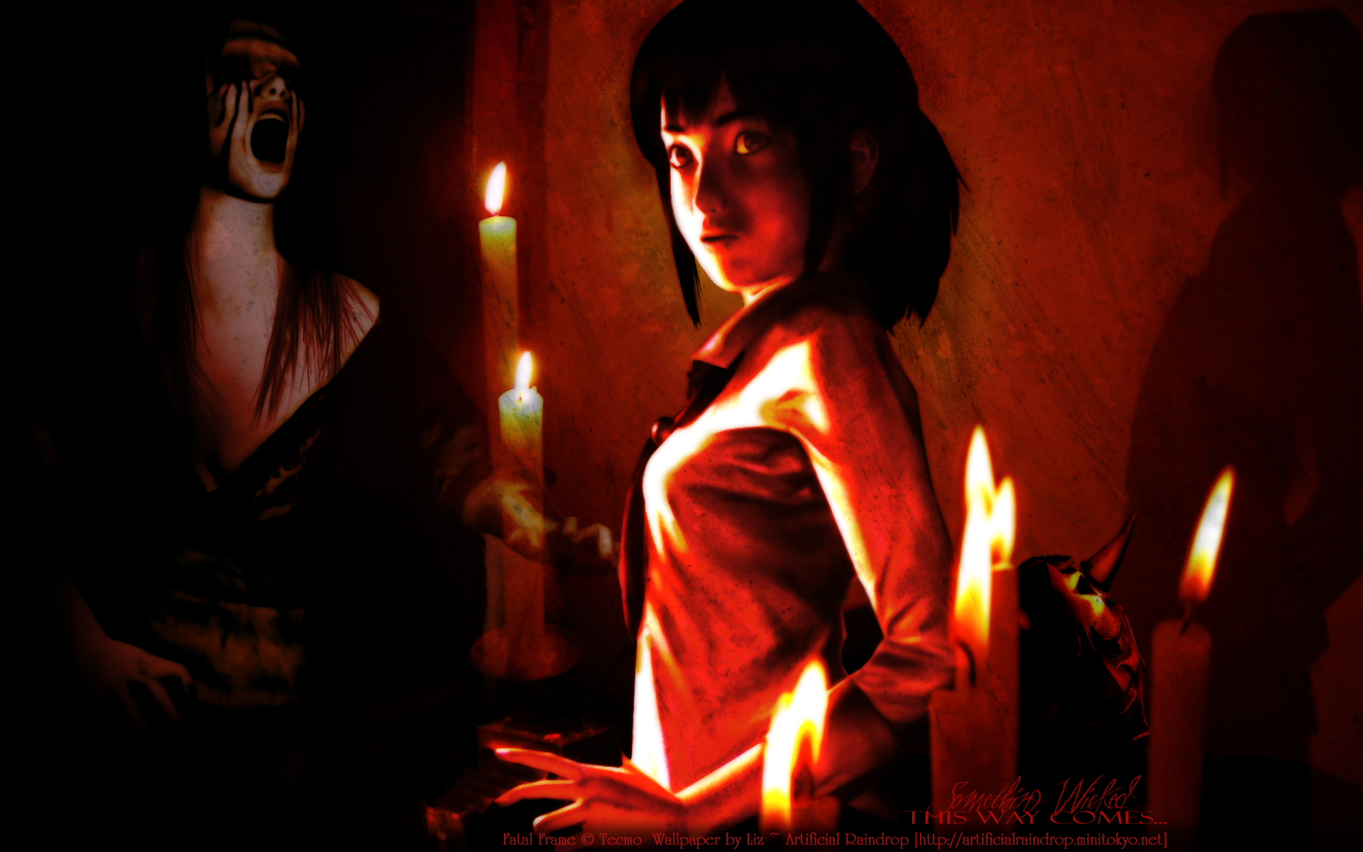 Fatal Frame - Wallpaper and Scan Gallery - Minitokyo