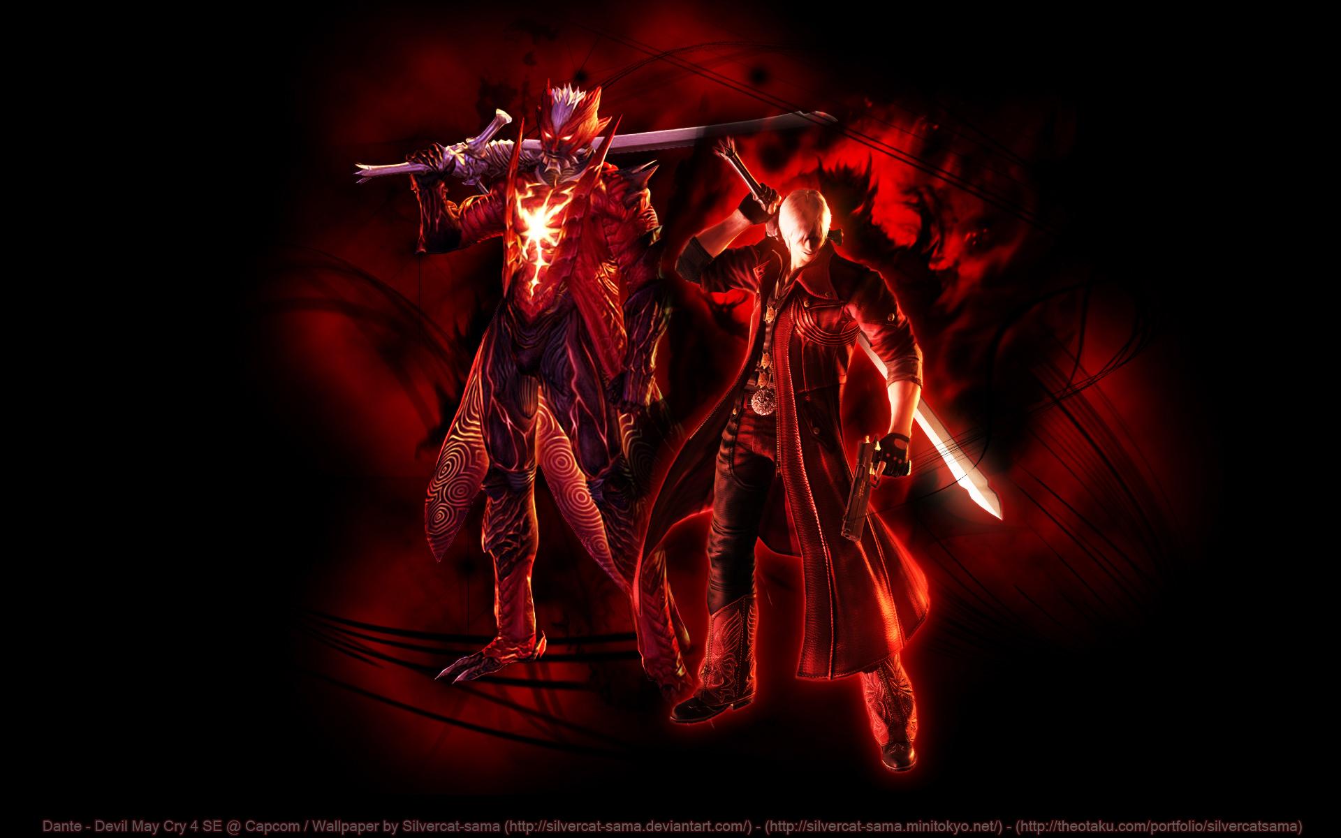 Devil May Cry Wallpaper Dante S Devil Trigger Minitokyo