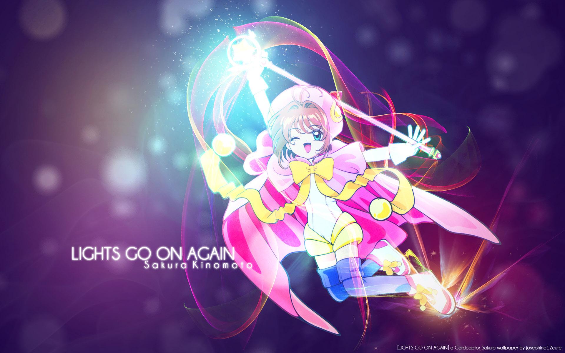 Cardcaptor Sakura Wallpaper: LIGHTS GO ON AGAIN - Minitokyo