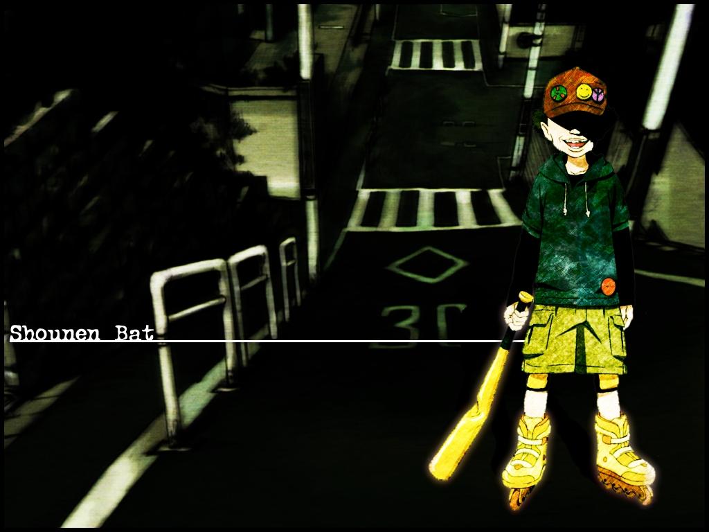 Satoshi Kon Wallpaper Paranoia Agent Shounen Bat Minitokyo