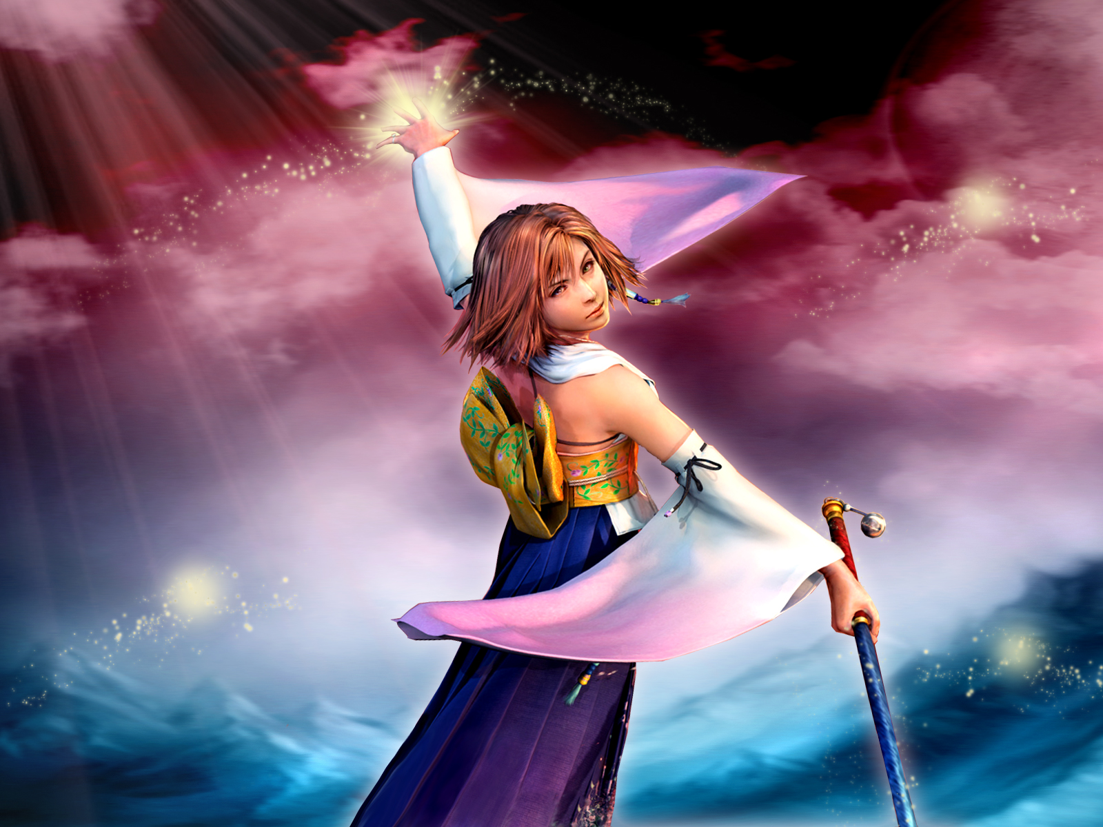 Final fantasy x wallpaper yuna and the spirits minitokyo - Yuna wallpaper ...