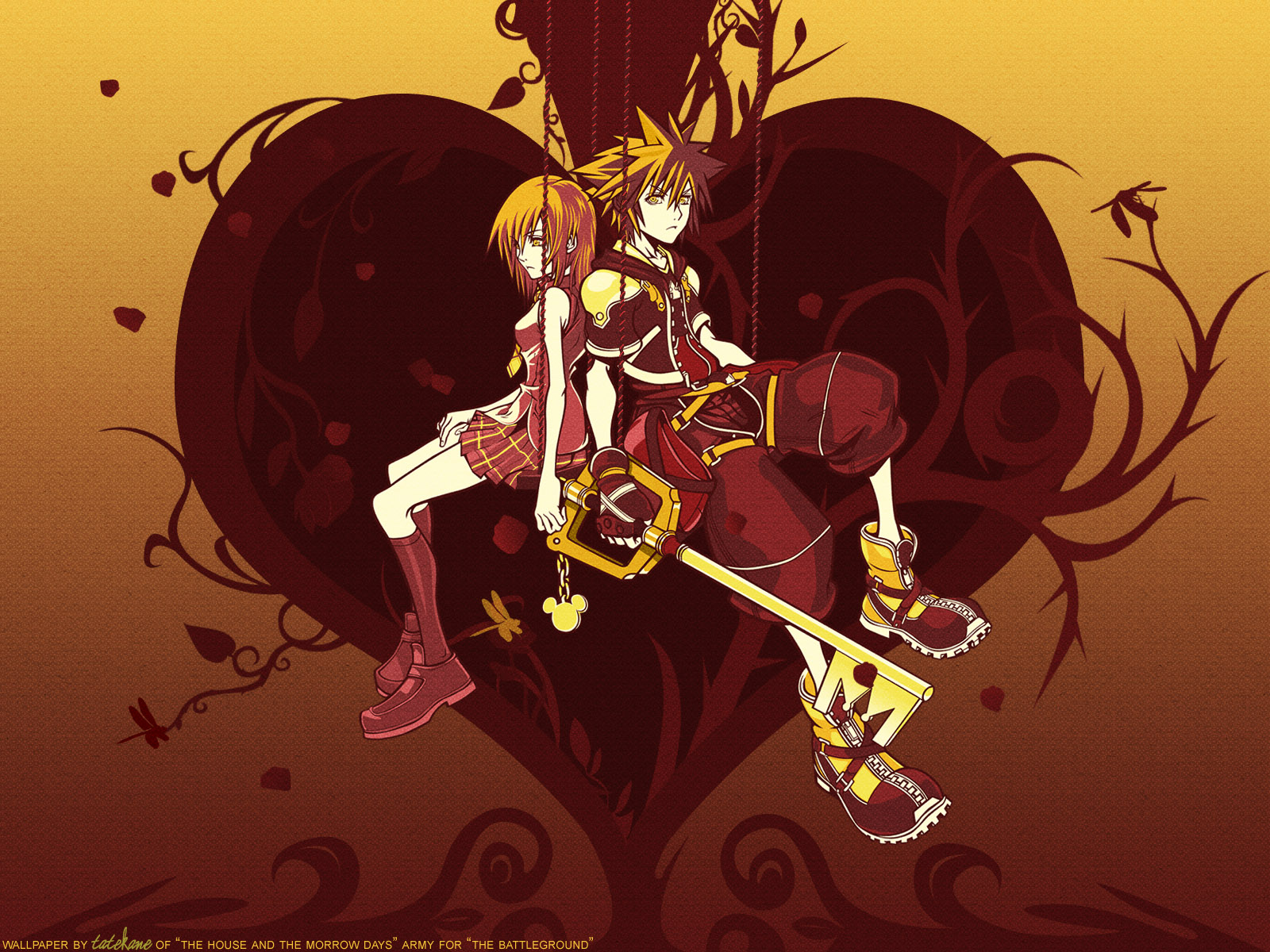 Kingdom Hearts Wallpaper: Tree of Heart xD - Minitokyo