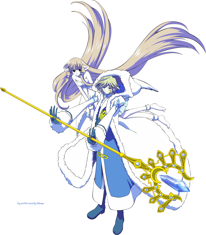 Tsubasa Reservoir Chronicle: Fay & Chii Vector