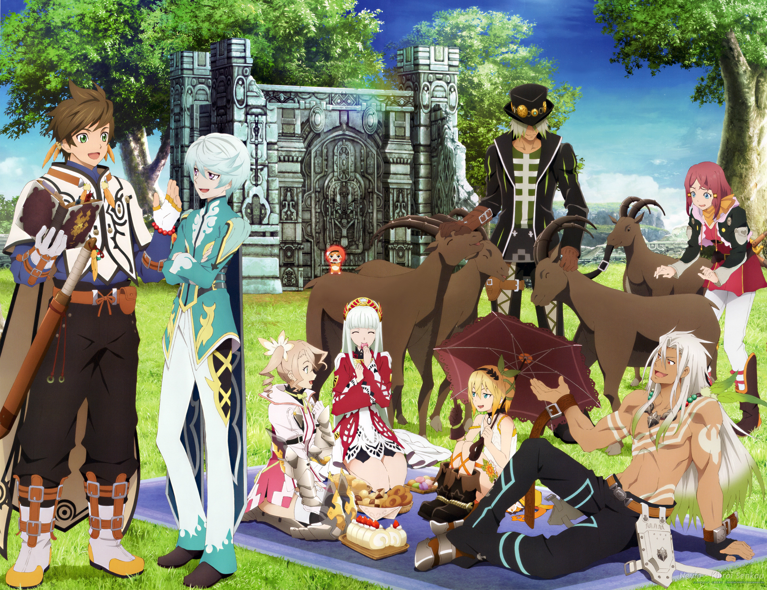 Tales Of Zestiria Wallpaper And Scan Gallery Minitokyo