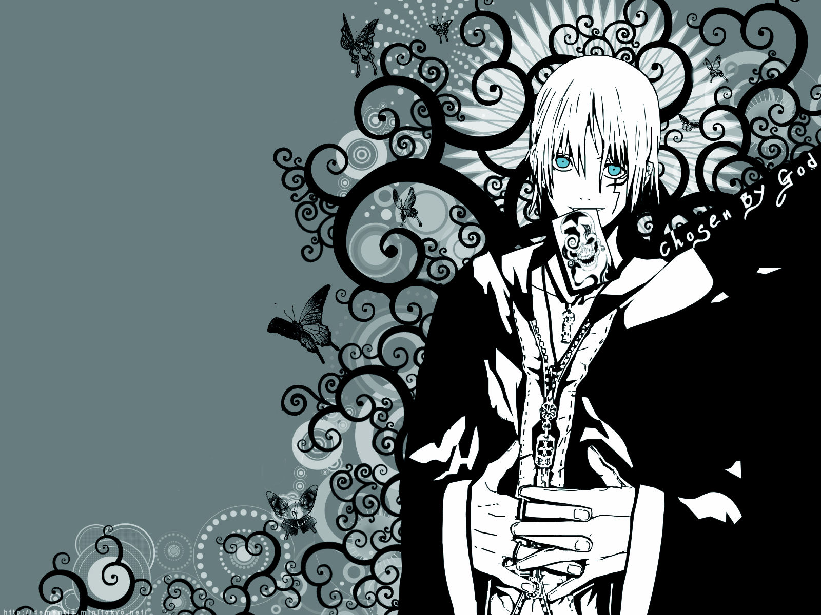 D Gray Man Wallpaper Chosen By God Minitokyo