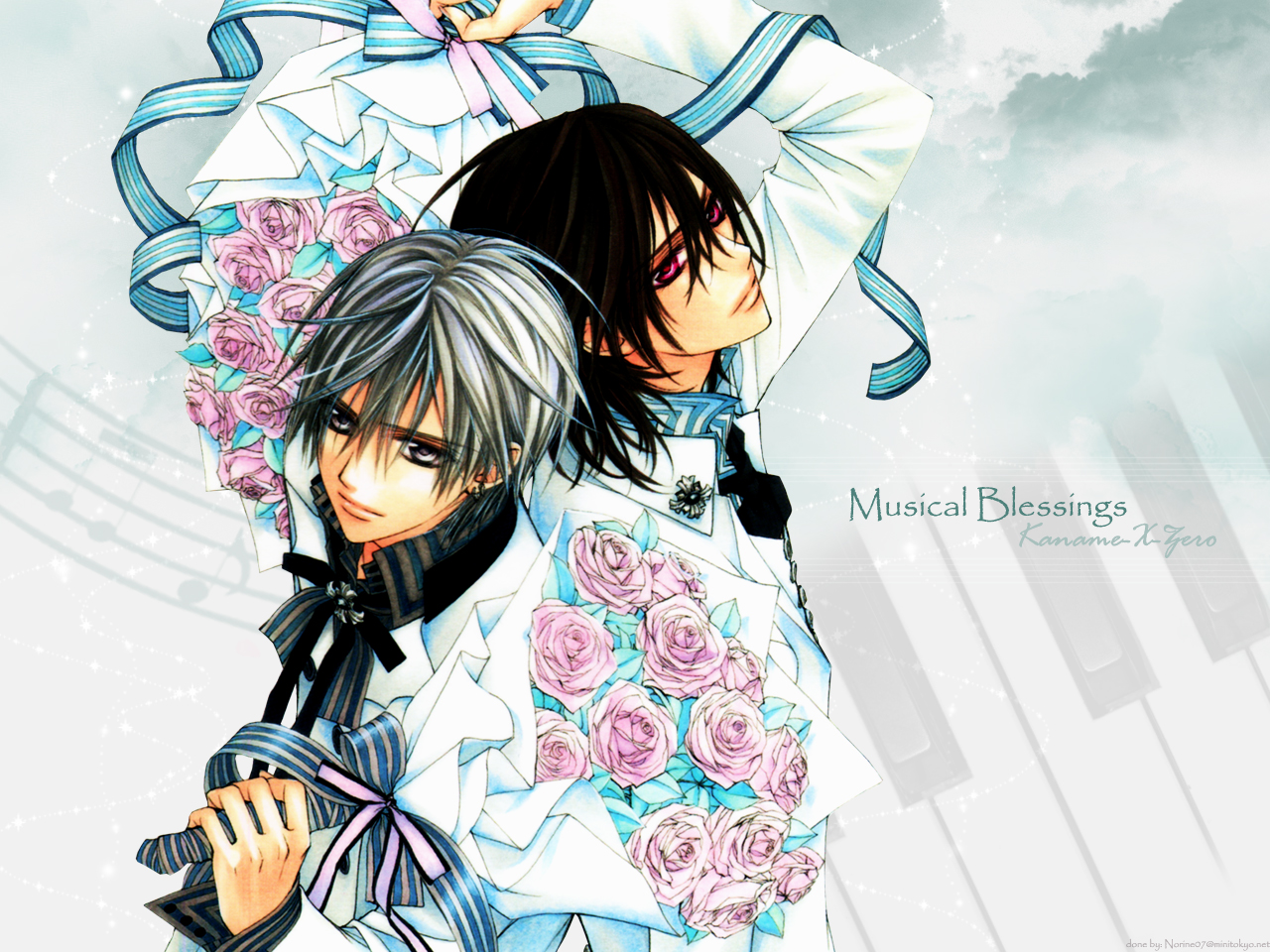 Download Vampire Knight Wallpaper: Musical Blessings ...