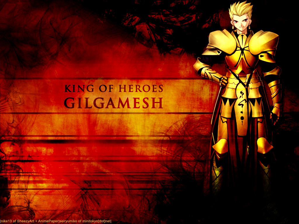 Gilgamesh Fatestay Night Wallpaper And Scan Gallery