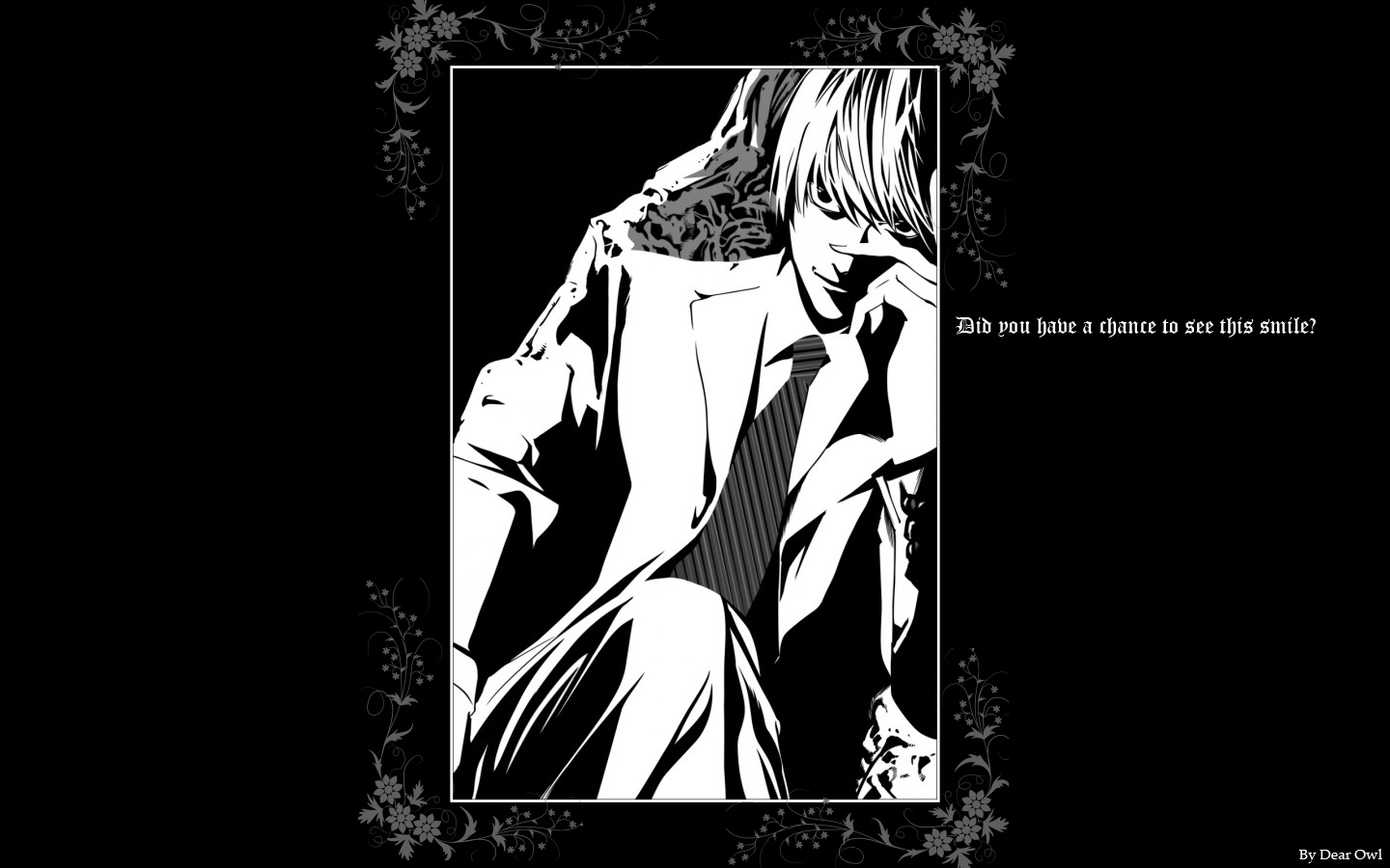 Death Note Wallpaper Smile Minitokyo