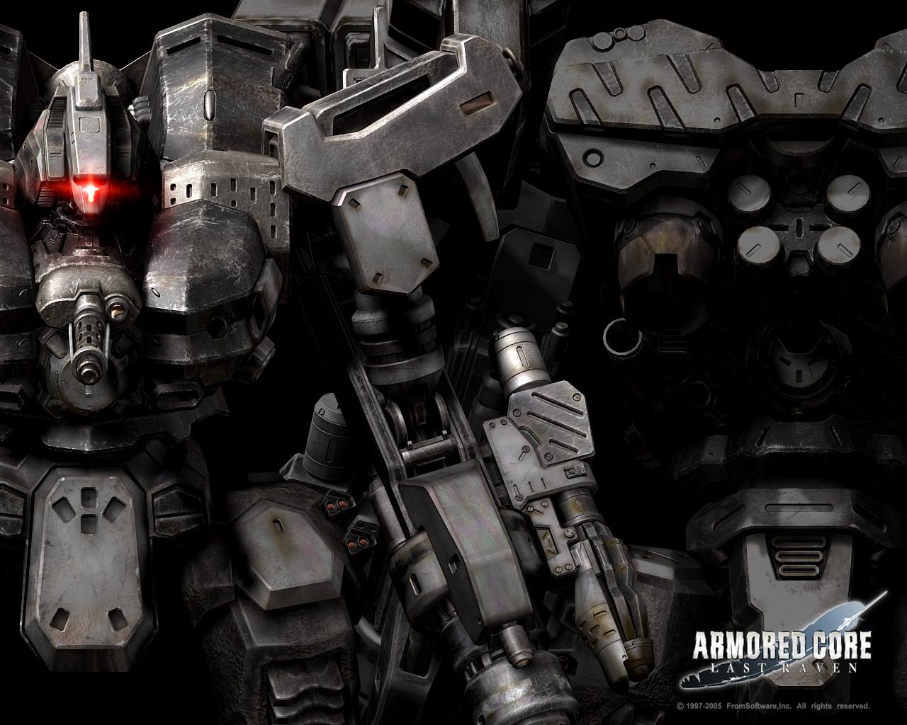 Armored Core Wallpaper And Scan Gallery Minitokyo