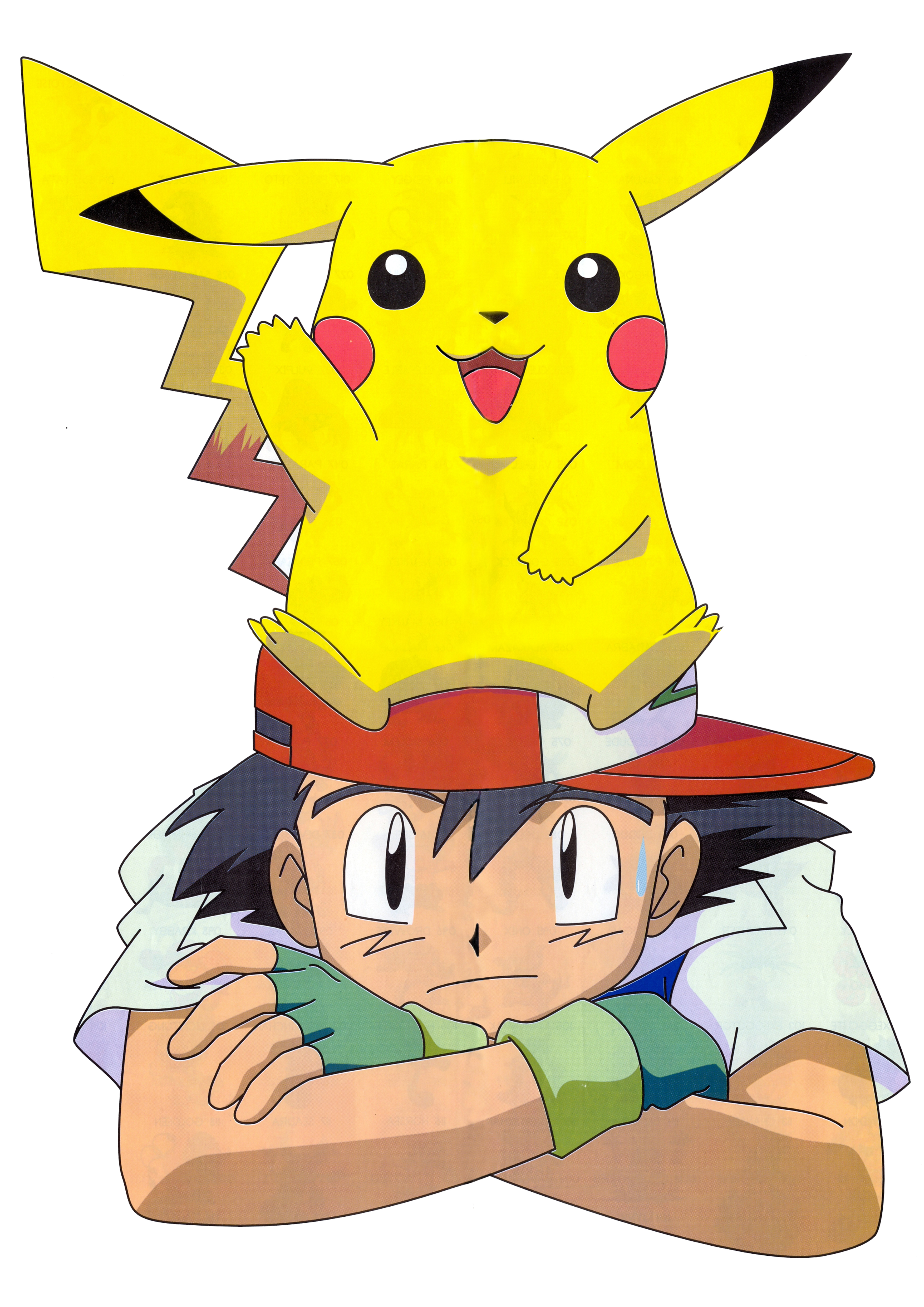 Ash pikachu pokemon and