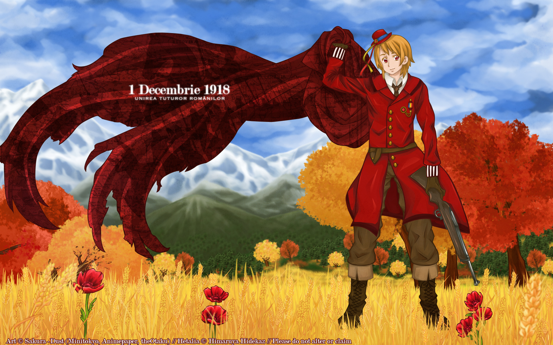 Hetalia Axis Powers Wallpaper 1 Decembrie Minitokyo
