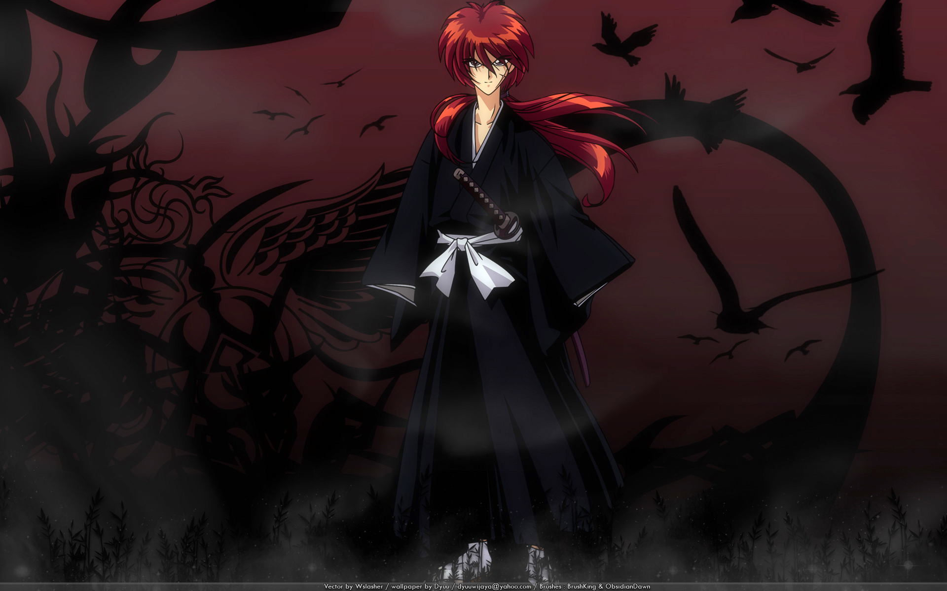 Rurouni kenshin wallpaper and scan gallery minitokyo voltagebd Images