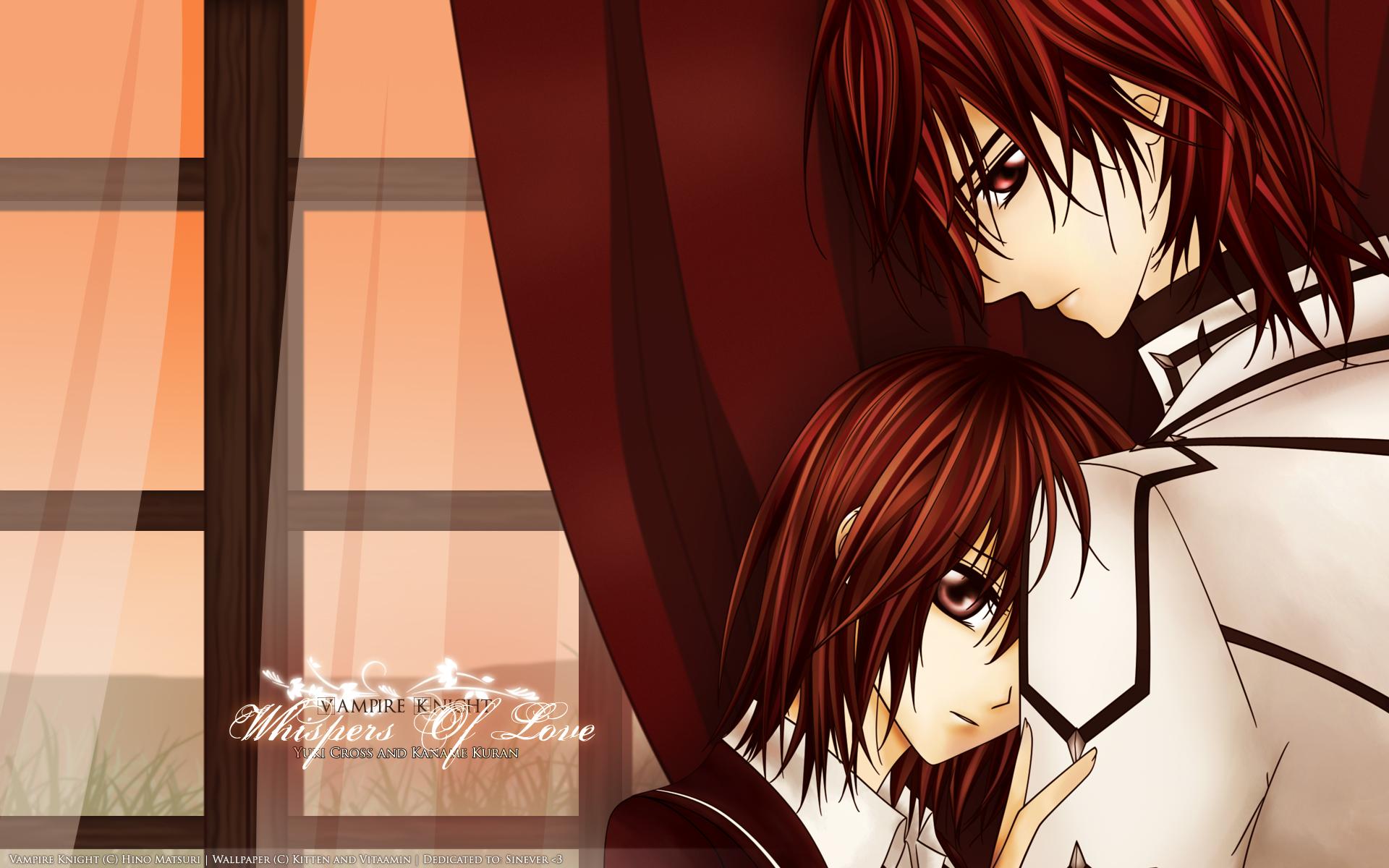 Vampire Knight Wallpaper: Innocent Love - Minitokyo