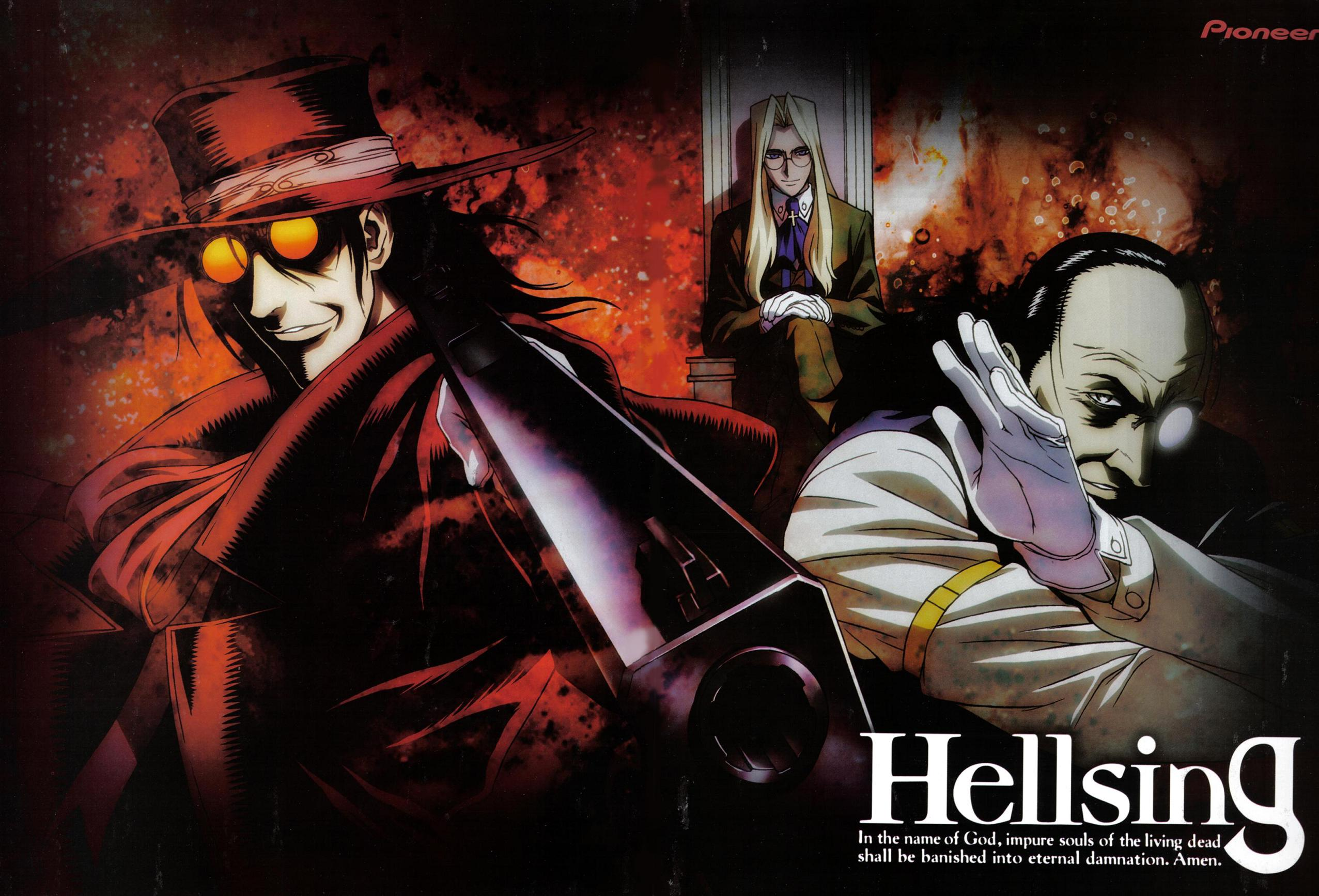 Integra Fairbrook Wingates Hellsing Wallpaper And Scan Gallery