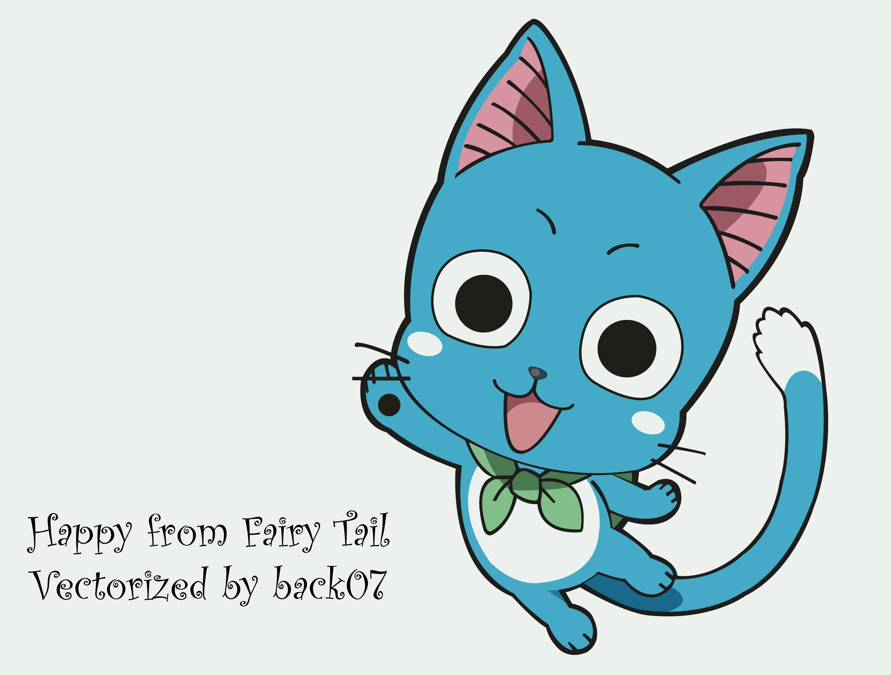 Happy Fairy Tail  Happy Fairy Tail Cute