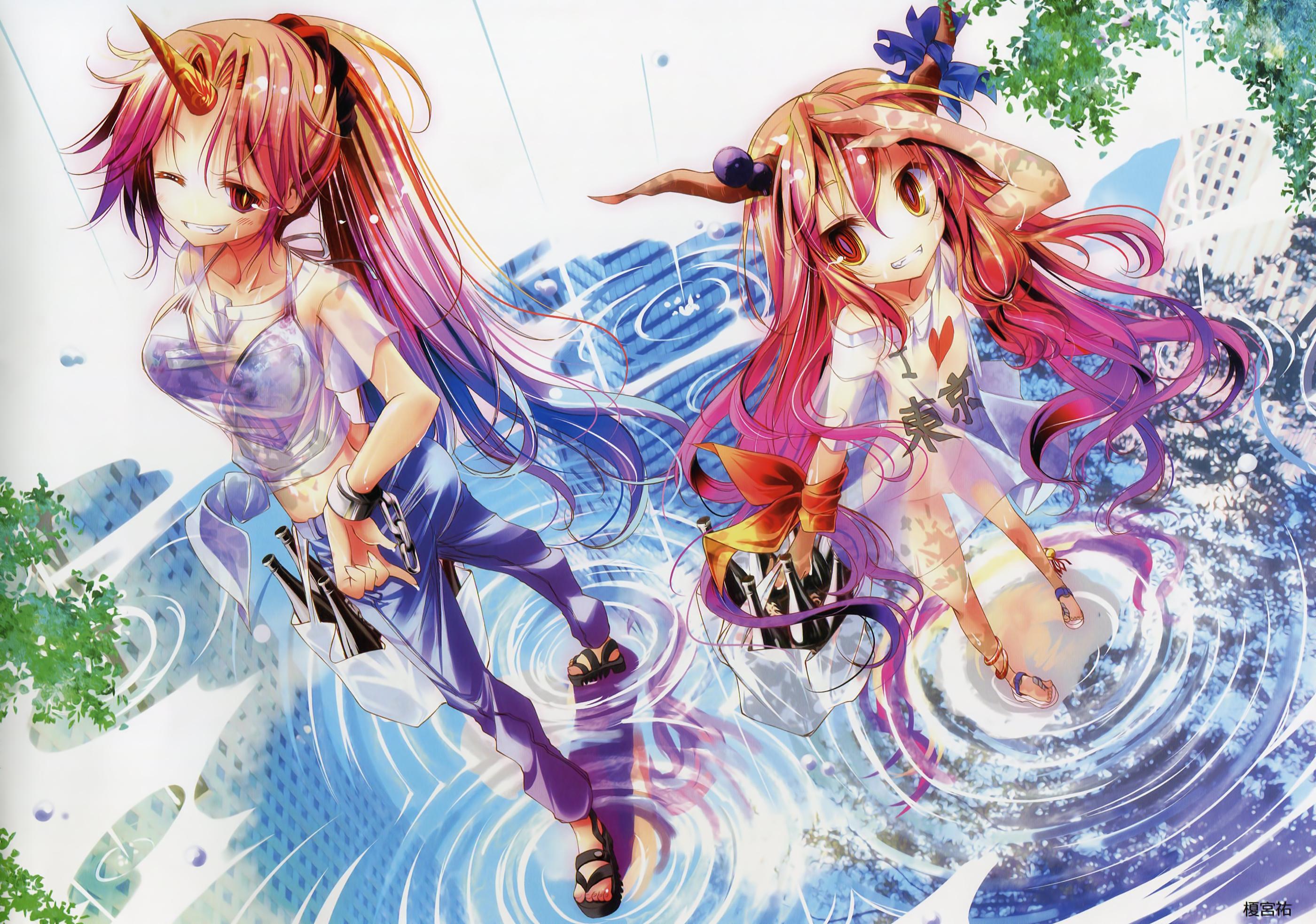 Suika Ibuki Wallpaper And Scan Gallery Minitokyo