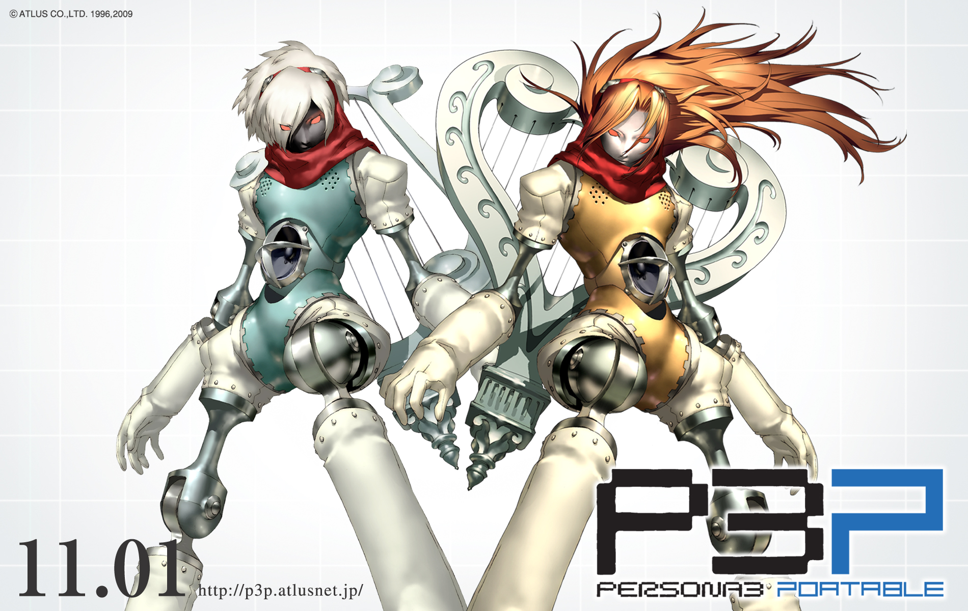 Shin Megami Tensei: Persona 3: Orpheus and Female MC's Persona