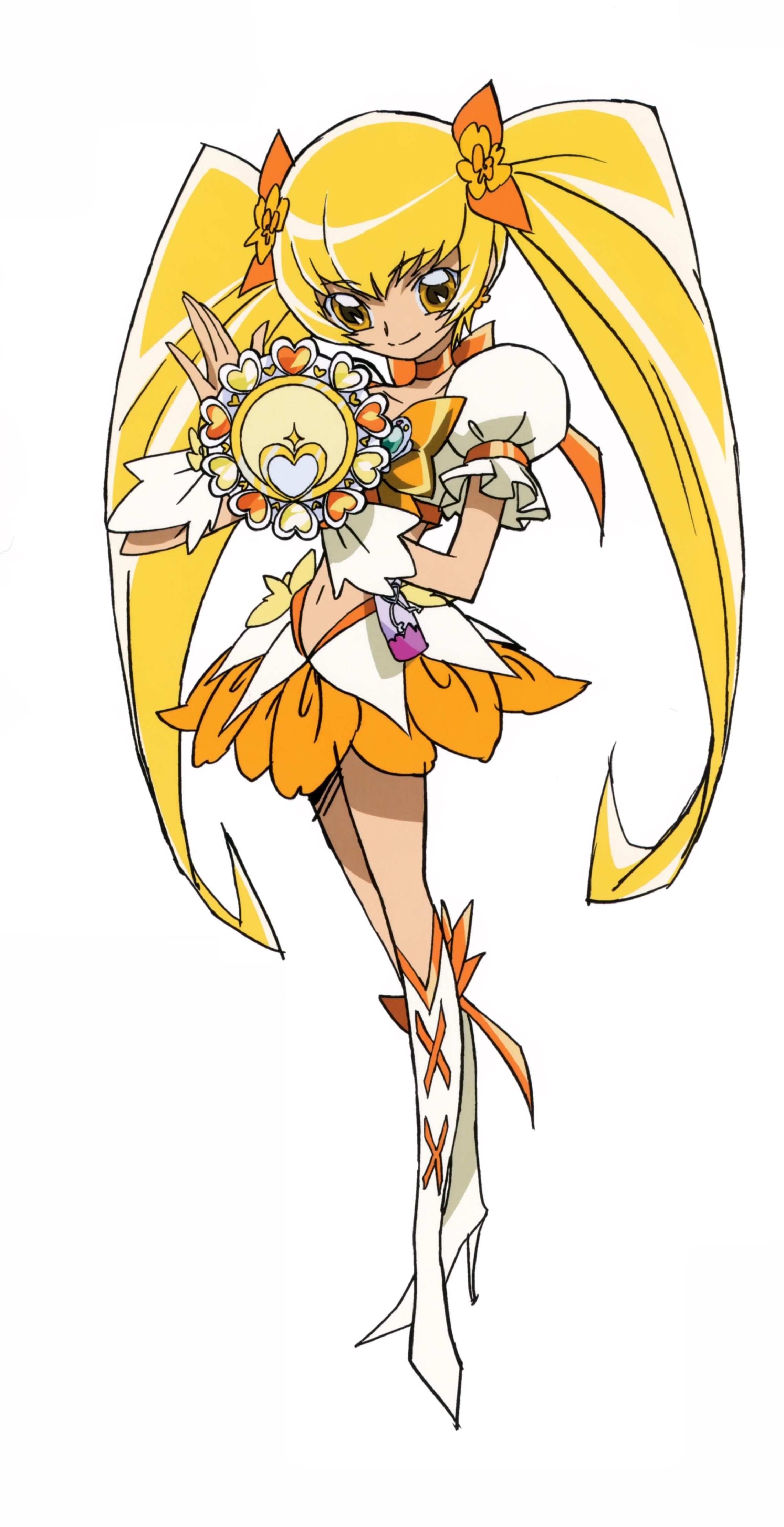 HeartCatch Precure!: Cure Sunshine - Minitokyo