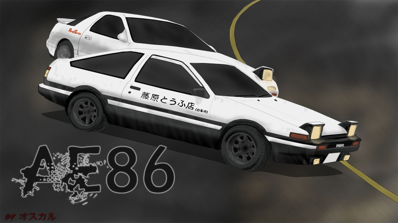 Initial D Wallpaper And Scan Gallery Minitokyo