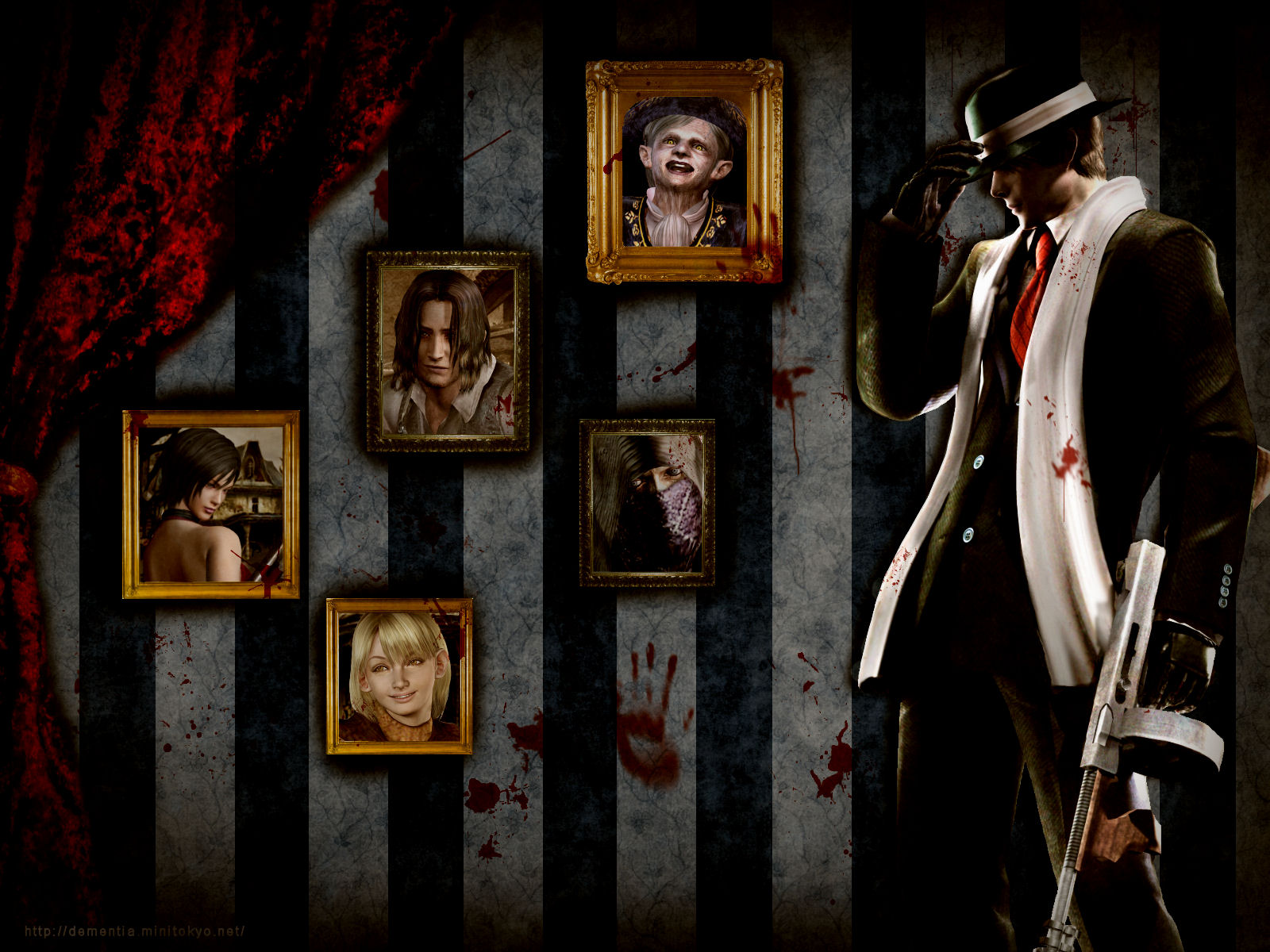 Resident Evil 4 Wallpaper First Class Script Minitokyo