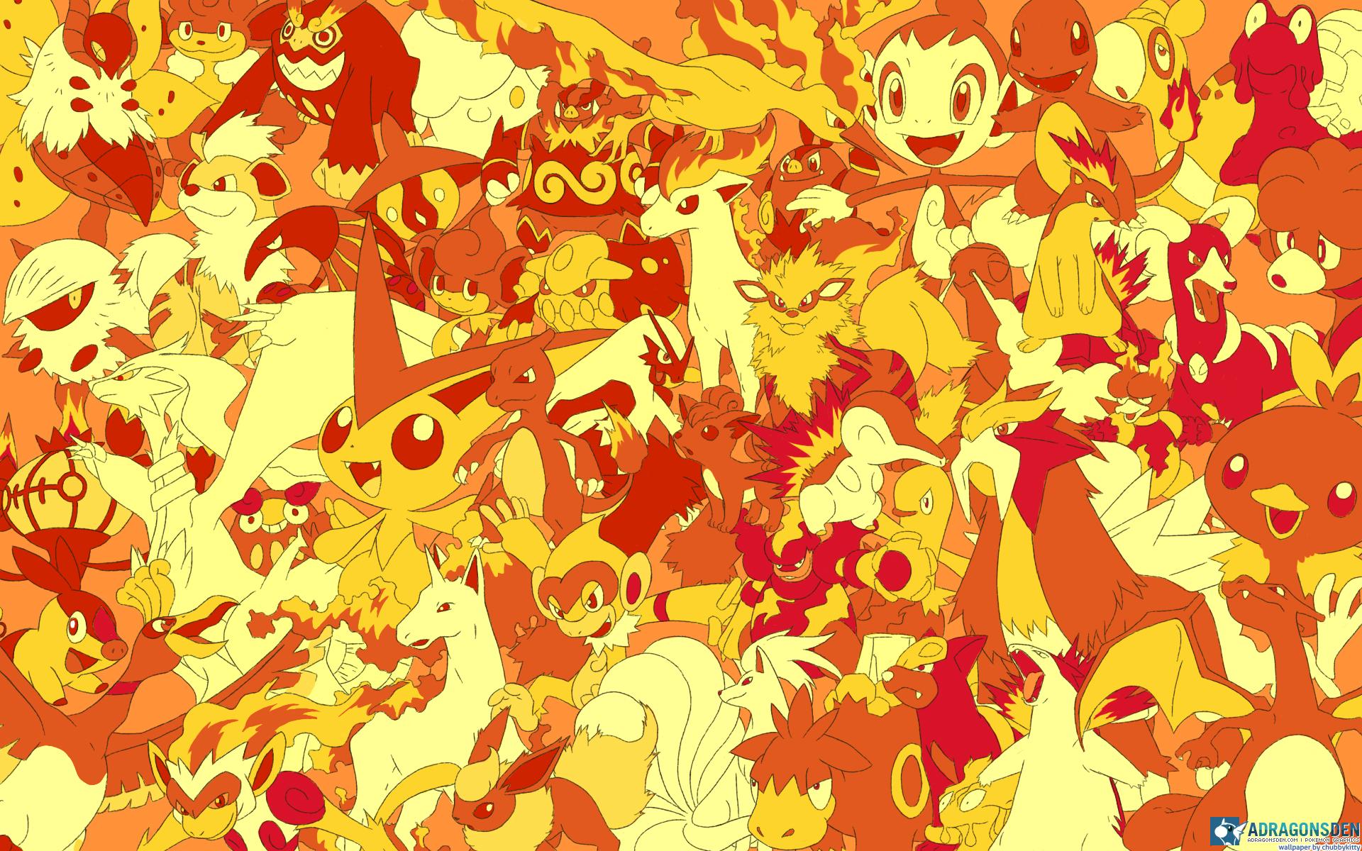 Video Game Character Collage Wallpaper Pokémon Wallpaper...