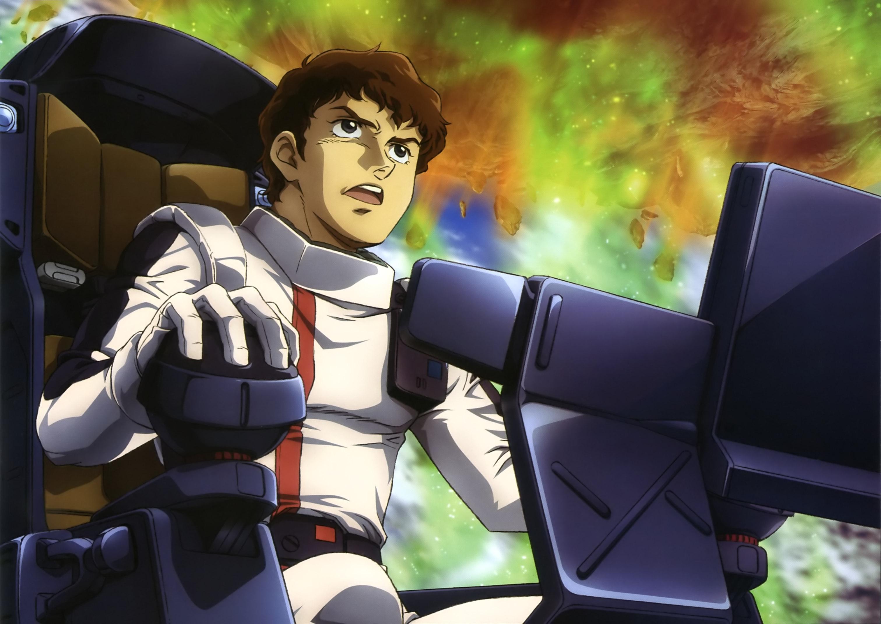 Mobile Suit Gundam Char S Counterattack Amuro Ray Minitokyo