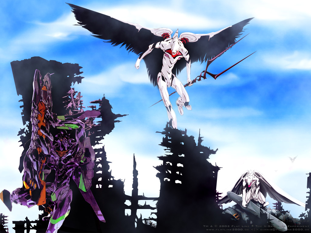 Neon Genesis Evangelion Wallpaper: Till the END v1.0a ...