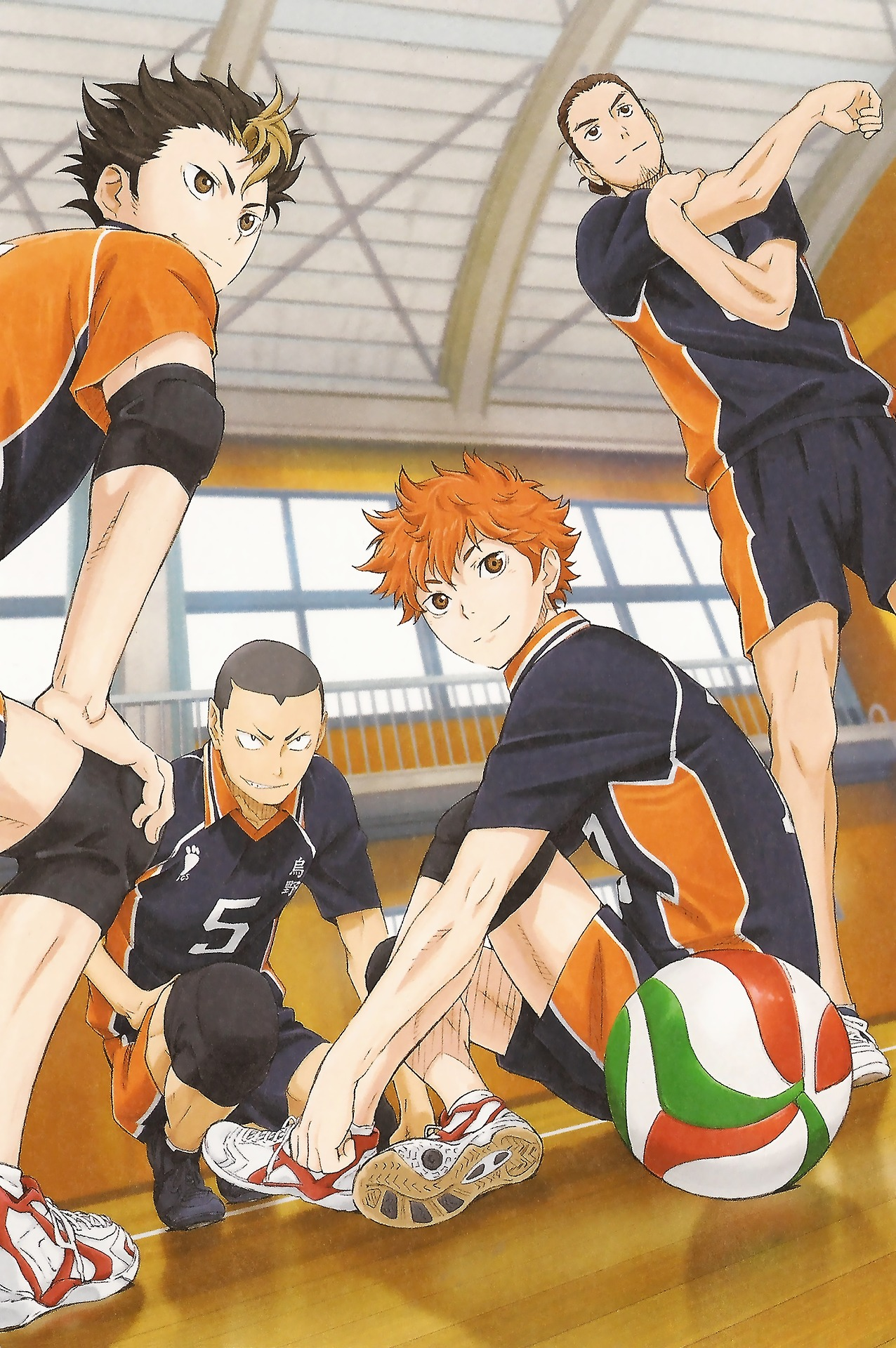 Haikyuu!! - Wallpaper and Scan Gallery - Minitokyo