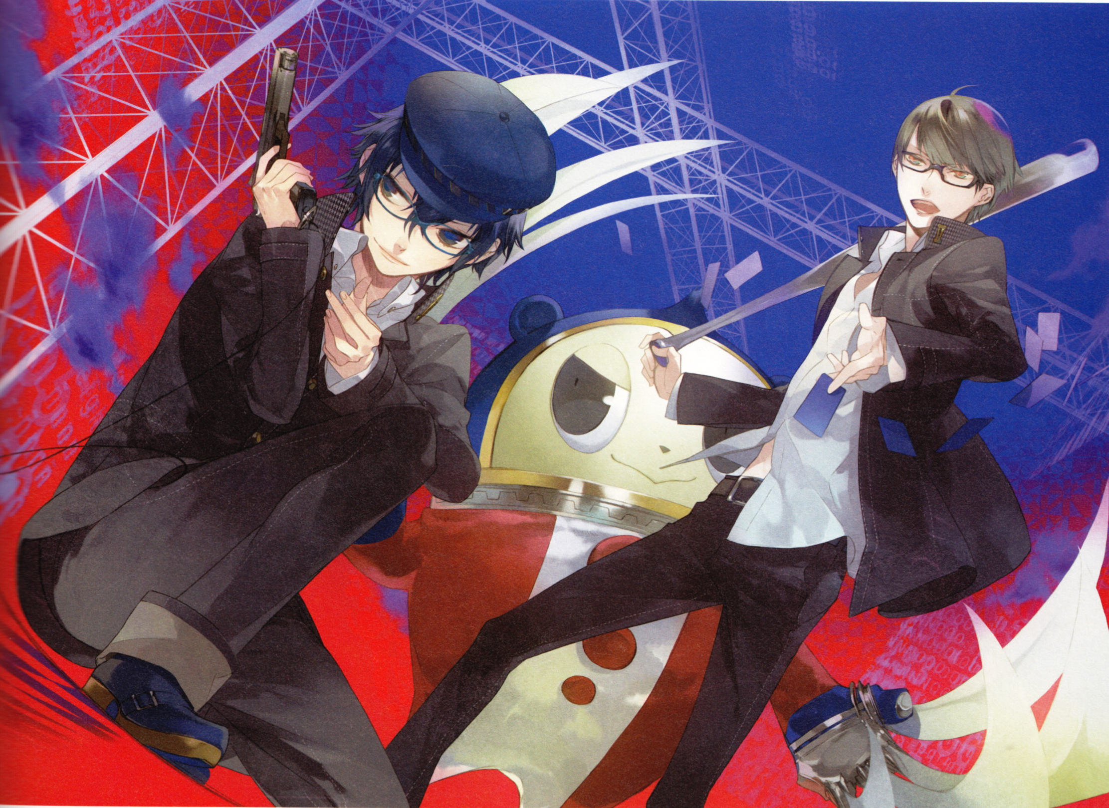 Shin Megami Tensei: Persona 4 - Wallpaper and Scan Gallery