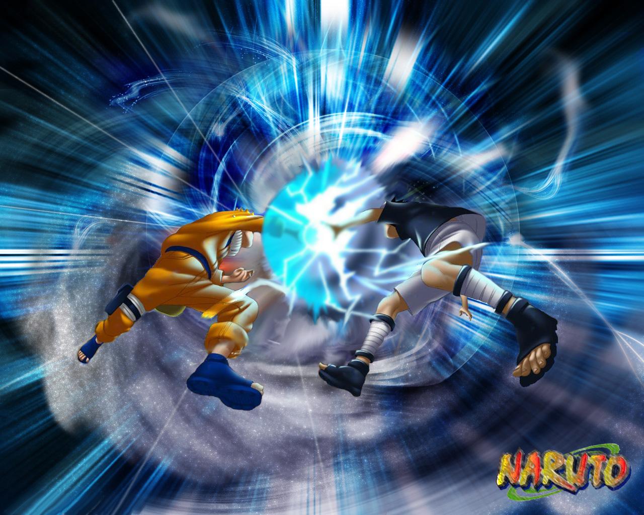 Naruto Wallpaper: Naruto - Rivalry - Minitokyo