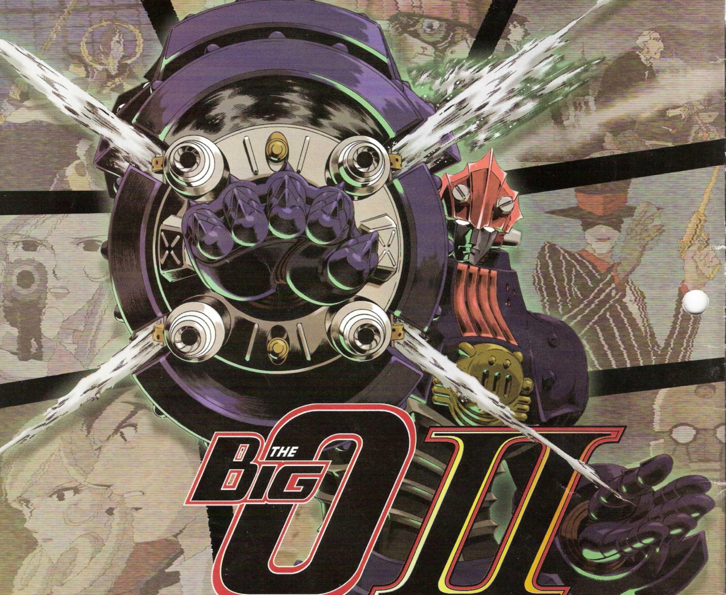 Big O Anime Characters : Big o action minitokyo