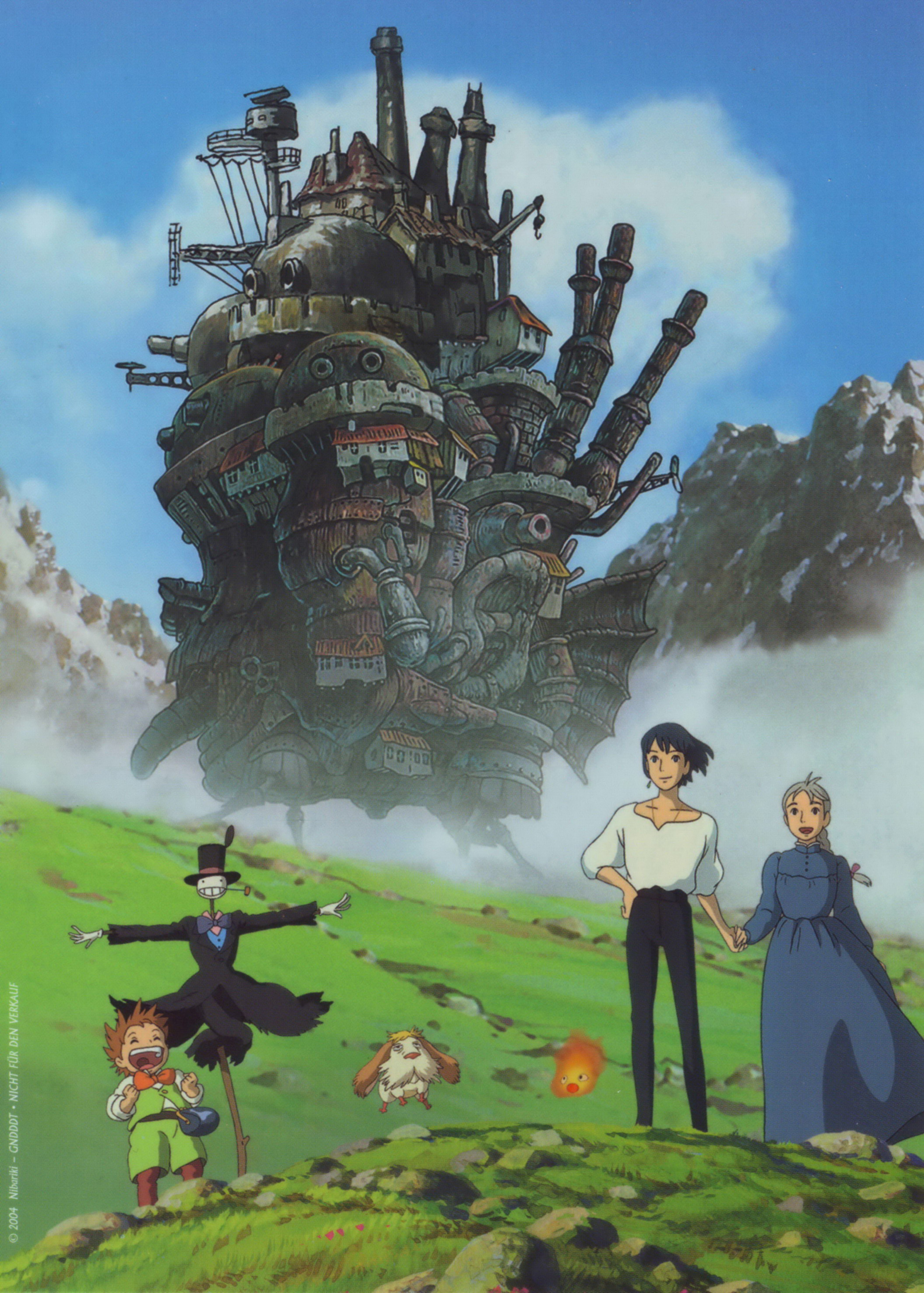 Howl's Moving Castle: Howl no Ugoku Shiro - 07 - Minitokyo