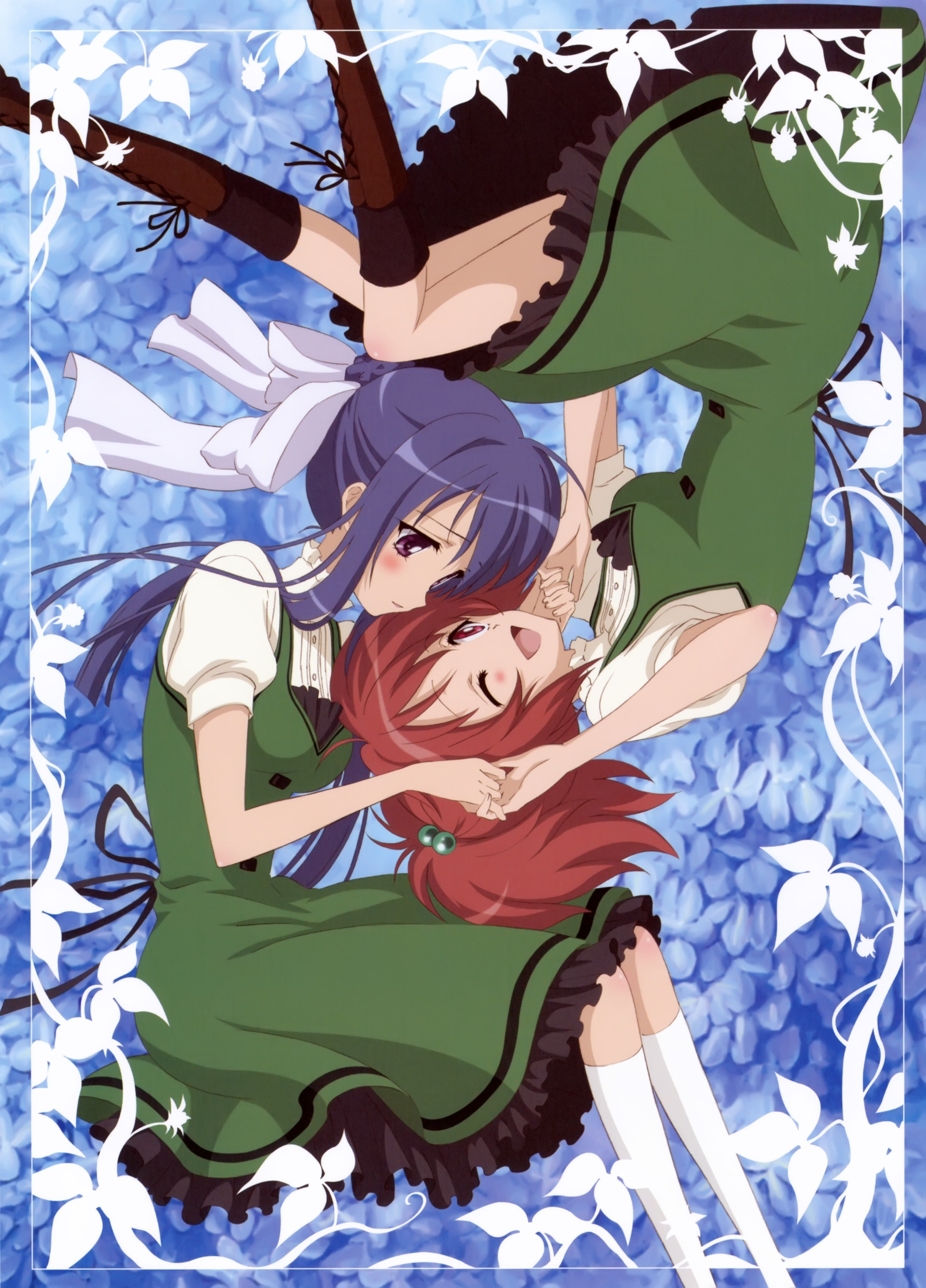 Strawberry Panic Tamao And Nagisa Minitokyo
