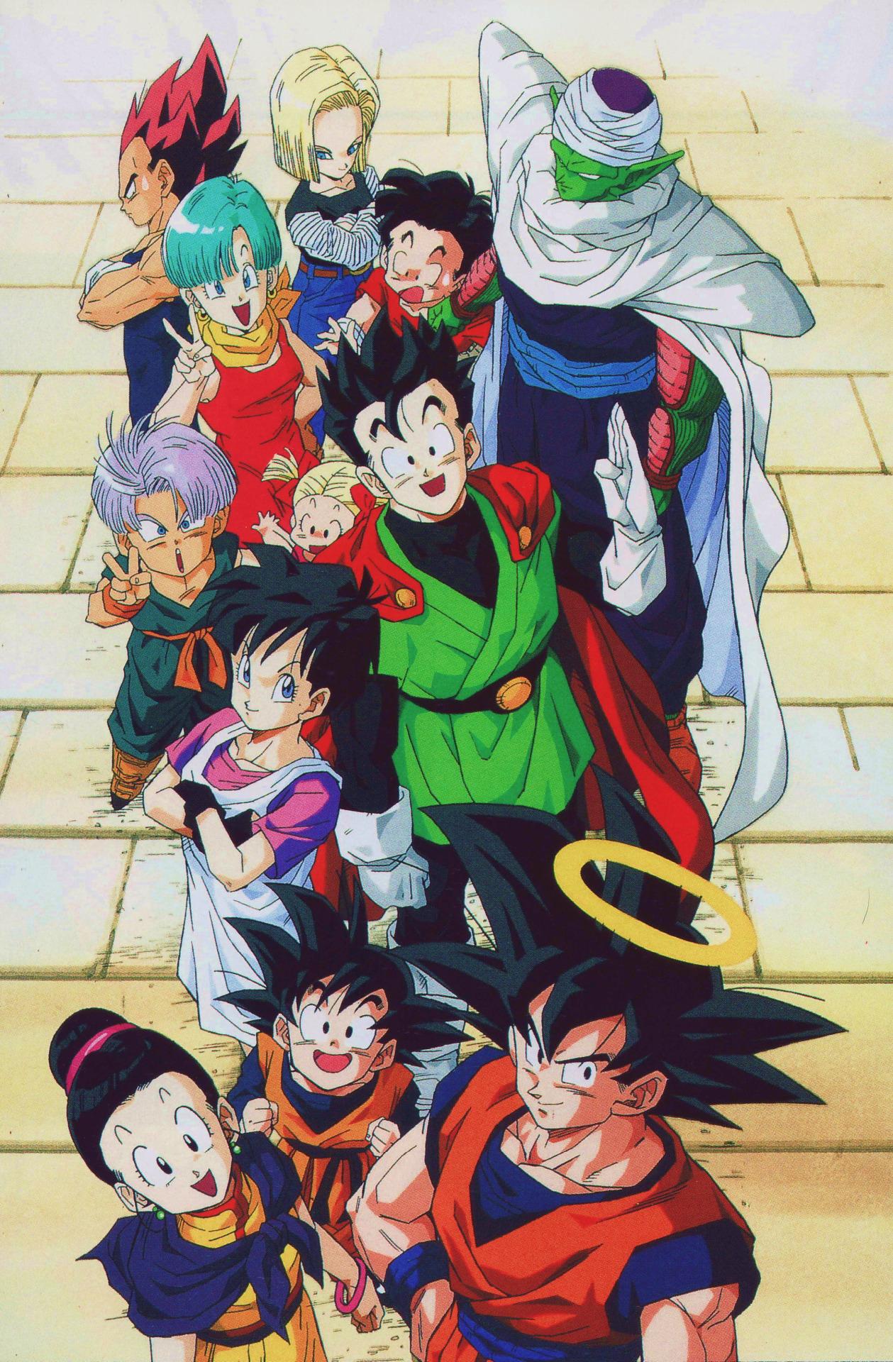 Akira Toriyama Toei Animation Dragon Ball Bulma Son Goten