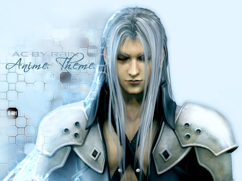 sephiroth - wallpaper and scan gallery - minitokyo