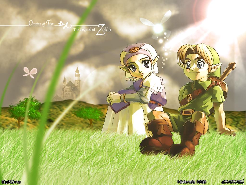 The Legend Of Zelda Wallpaper Zelda Link Minitokyo