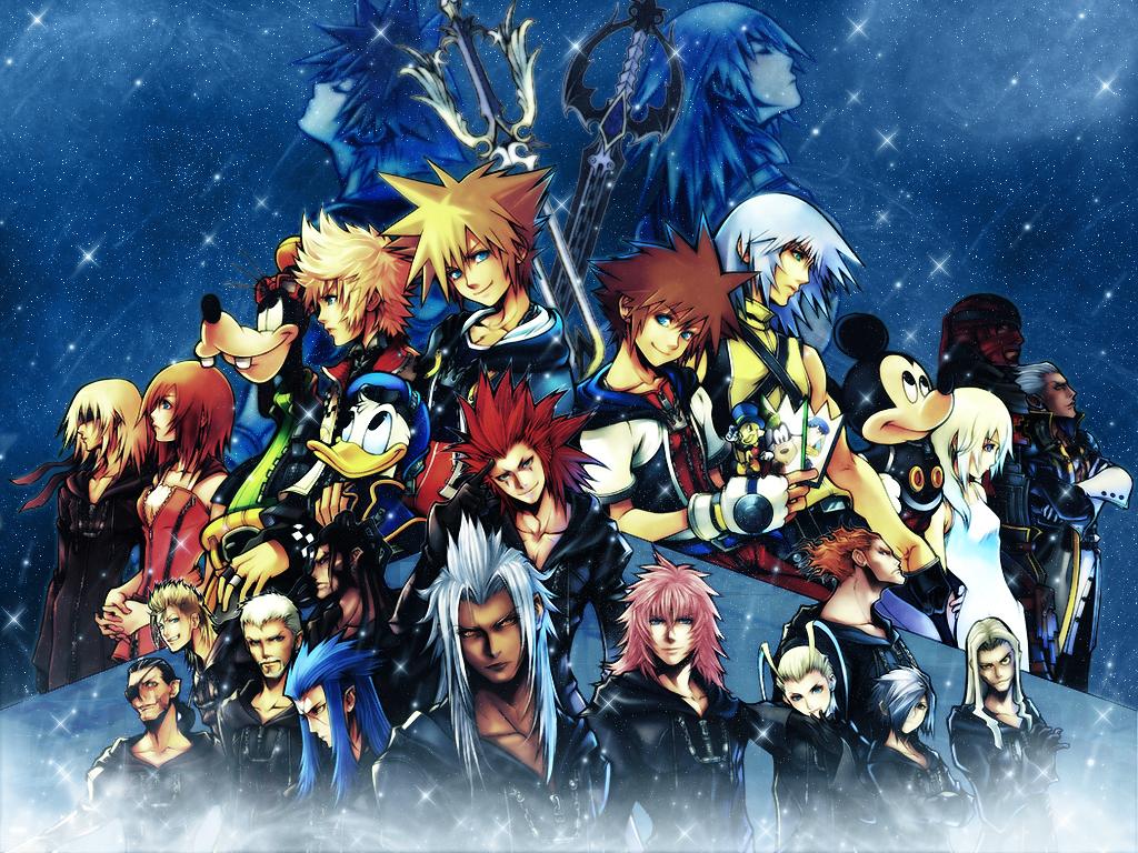 Kingdom Hearts Wallpaper Kingdom Hearts Starry Sky Minitokyo