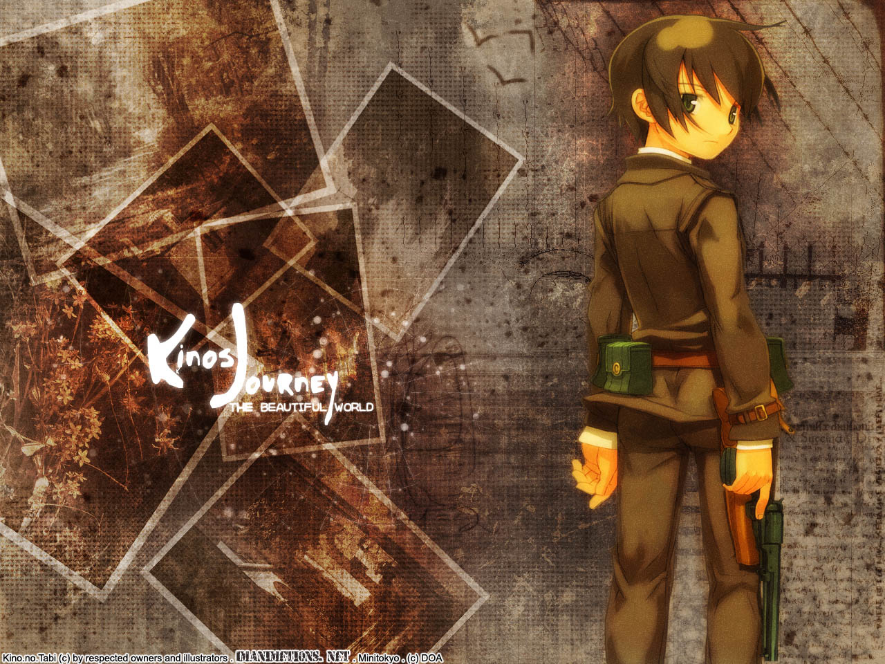 Kino No Tabi Wallpaper Kino S Journey Where Am I Minitokyo