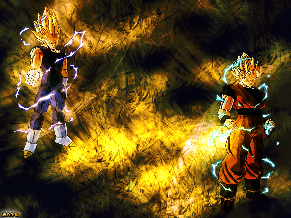 Dbz Dual Screen Wallpapers: Dragon Ball Wallpaper: Dual Sayains