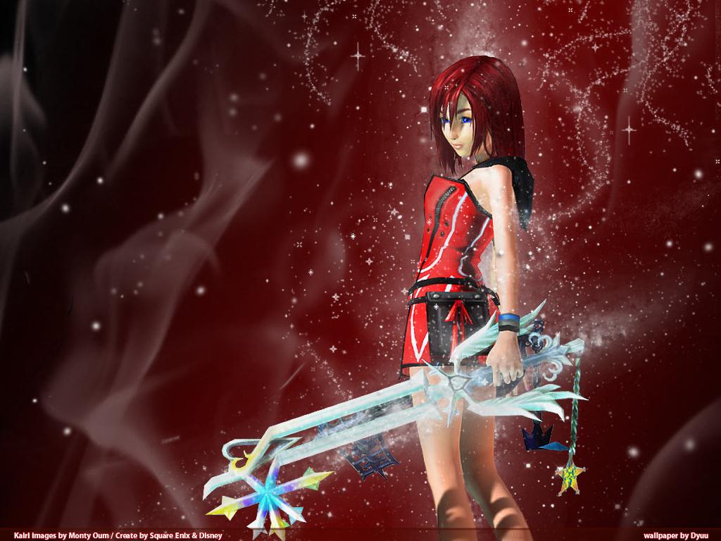 Kingdom Hearts Wallpaper: Kairi the Radiant Princess ...