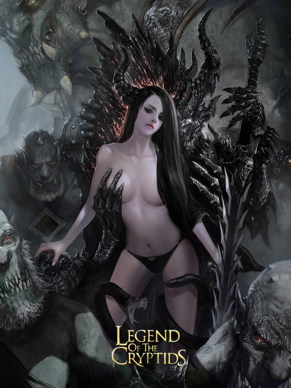 White snake and the sorceress nude sexual comic