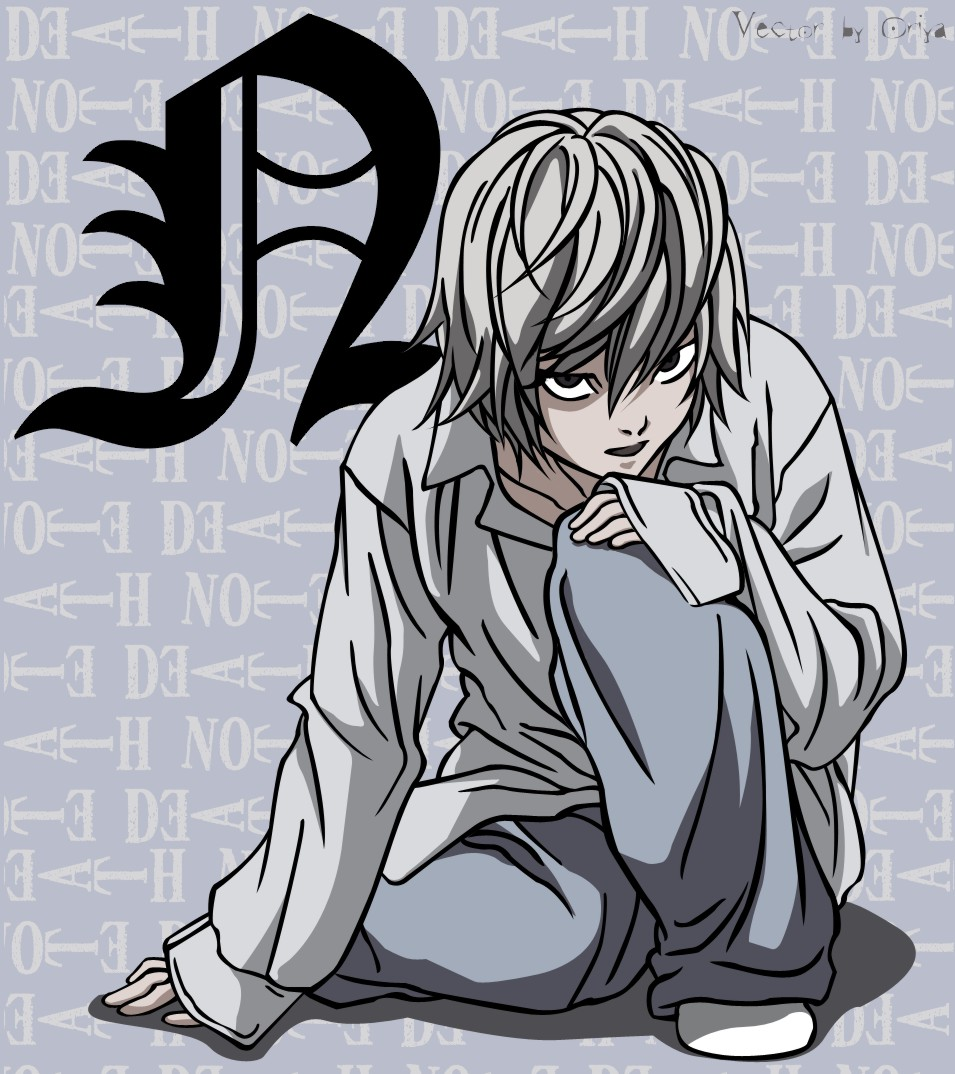 Minitokyo 187 death note indy art 187 death note n chan v
