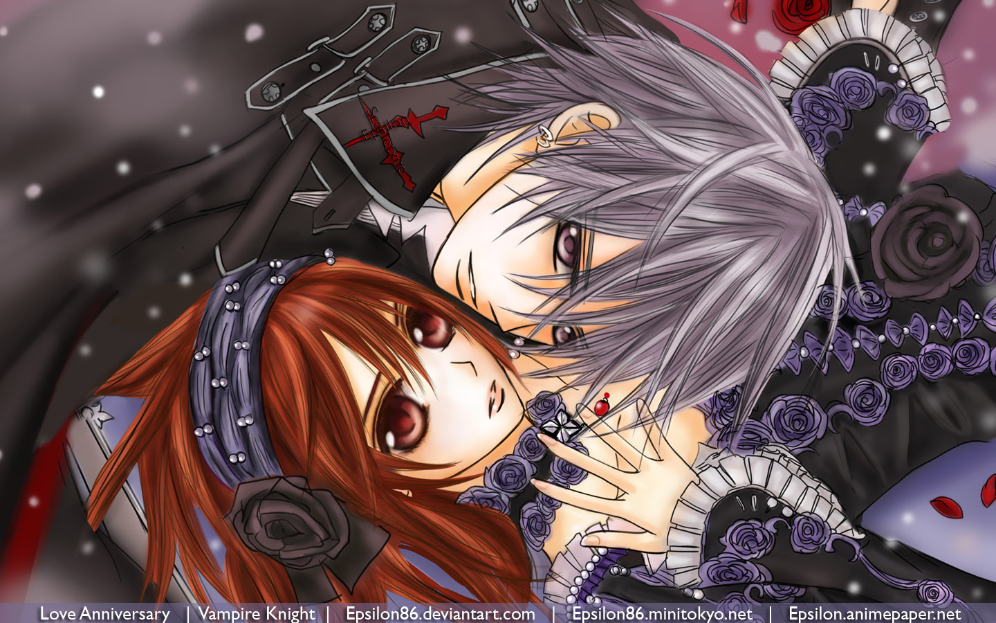 Download Vampire Knight Wallpaper: Im Waiting for You