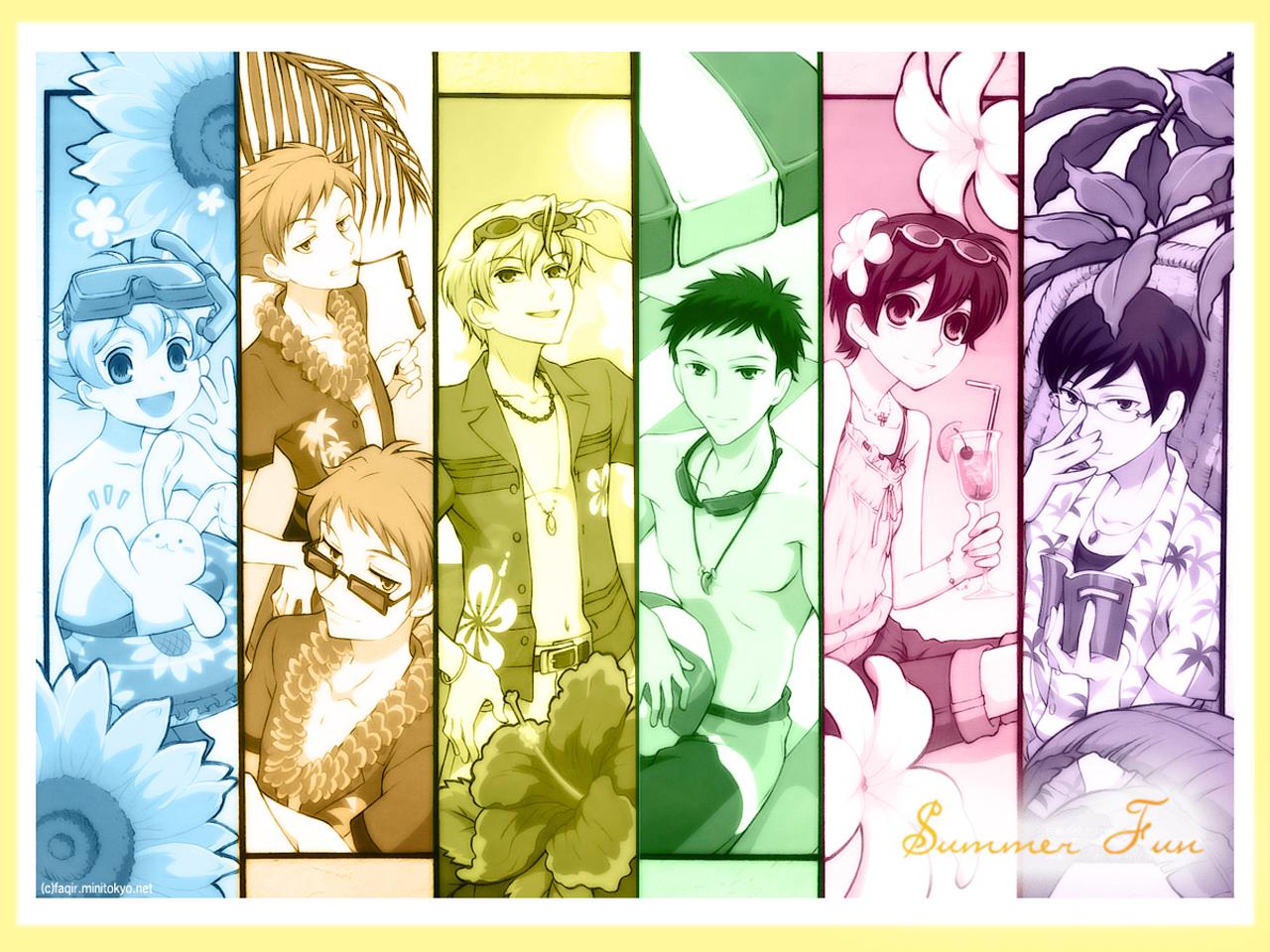 Ouran High School Host Club Wallpaper: Summer Fun - Minitokyo