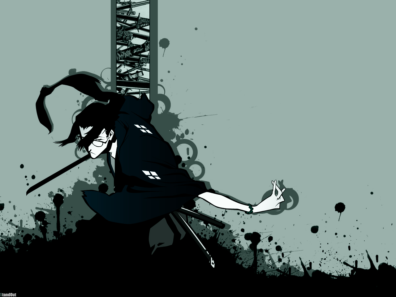 Samurai Champloo Wallpaper And Scan Gallery Minitokyo