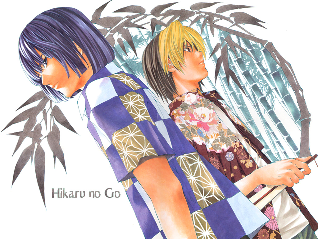 hikaru no go wallpaper hikaru no go rivals minitokyo. Black Bedroom Furniture Sets. Home Design Ideas