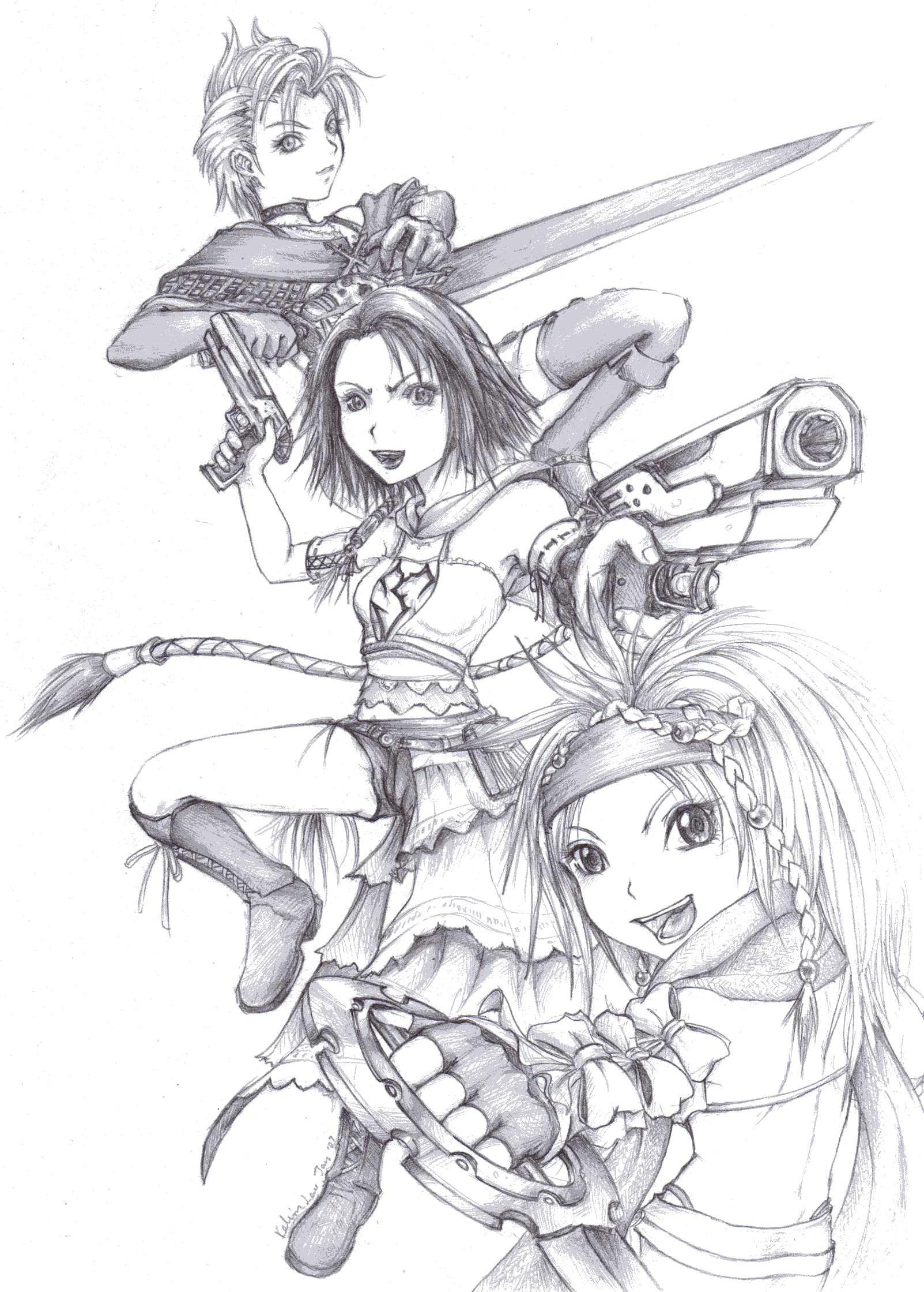 Final Fantasy X 2 Chibi Yrp Minitokyo