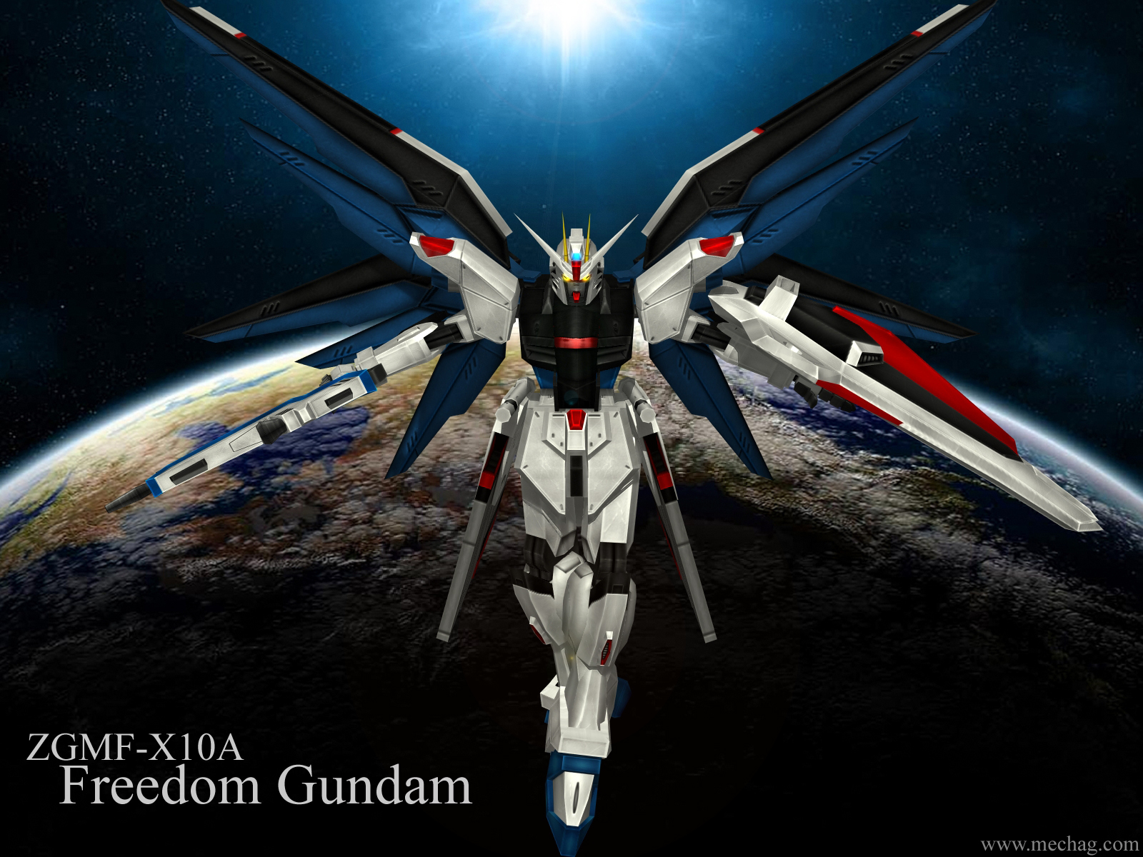 Mobile Suit Gundam SEED Wallpaper: ZGMF-X10A Freedom ...