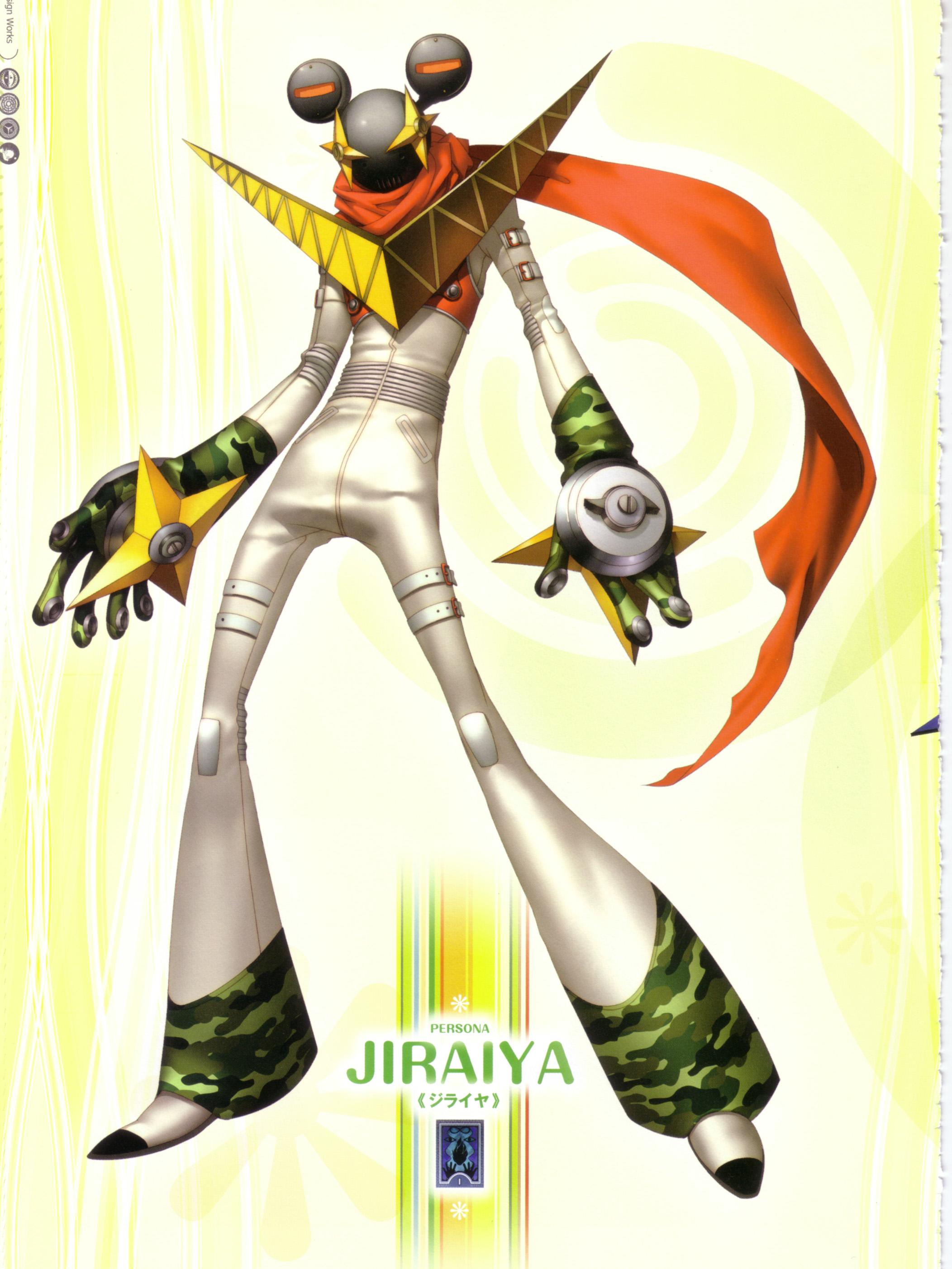 Jiraiya (Persona 4) - Wallpaper and Scan Gallery - Minitokyo
